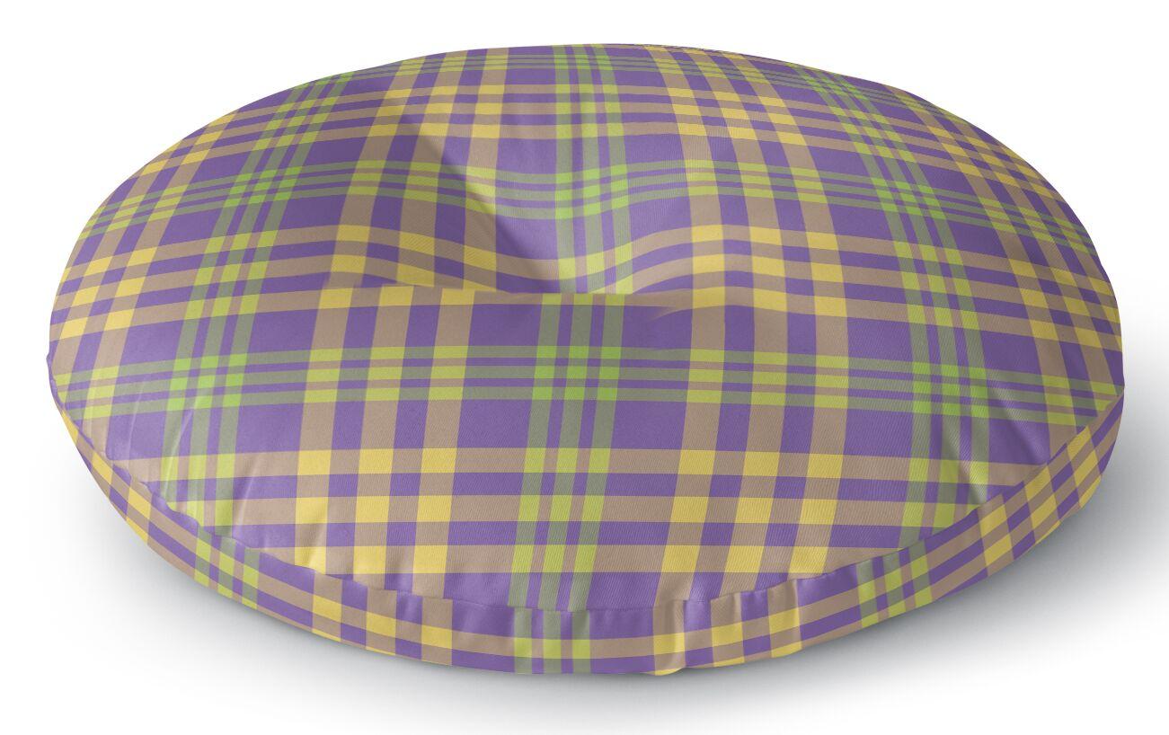 Turene Plaid Indoor/Outdoor Floor Pillow Size: 26