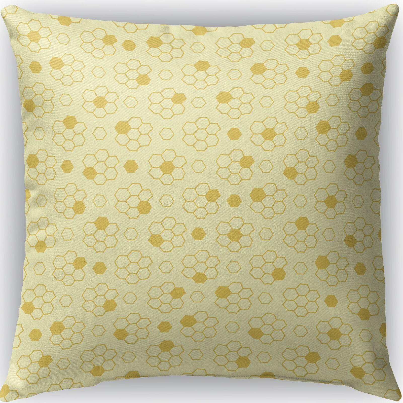 Leeanne Indoor/Outdoor Throw Pillow Size: 26