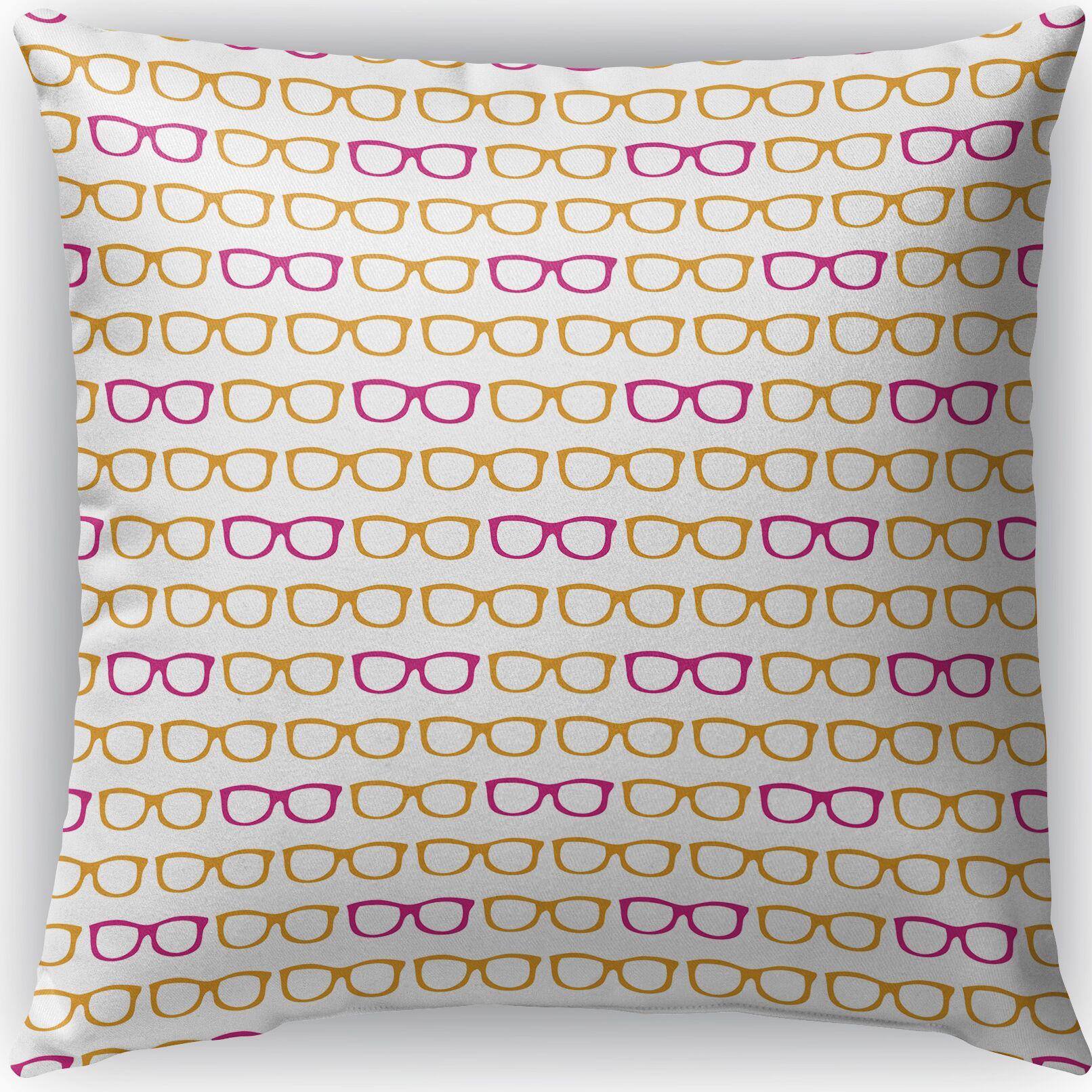 Zoel Indoor/Outdoor Throw Pillow Size: 18