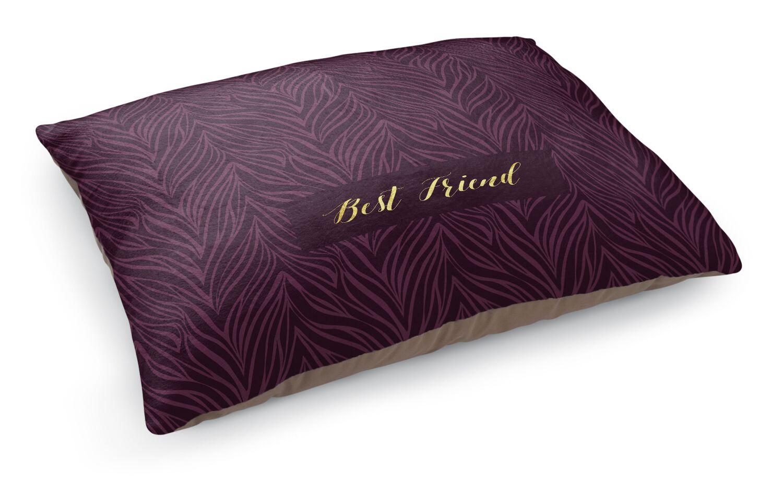 Best Friend Pet Bed Pillow Color: Purple