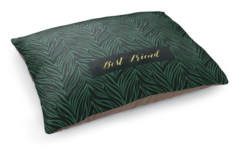 Best Friend Pet Bed Pillow Color: Green