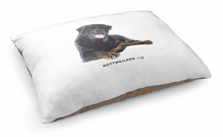 Julia Rottweilers Pet Pillow