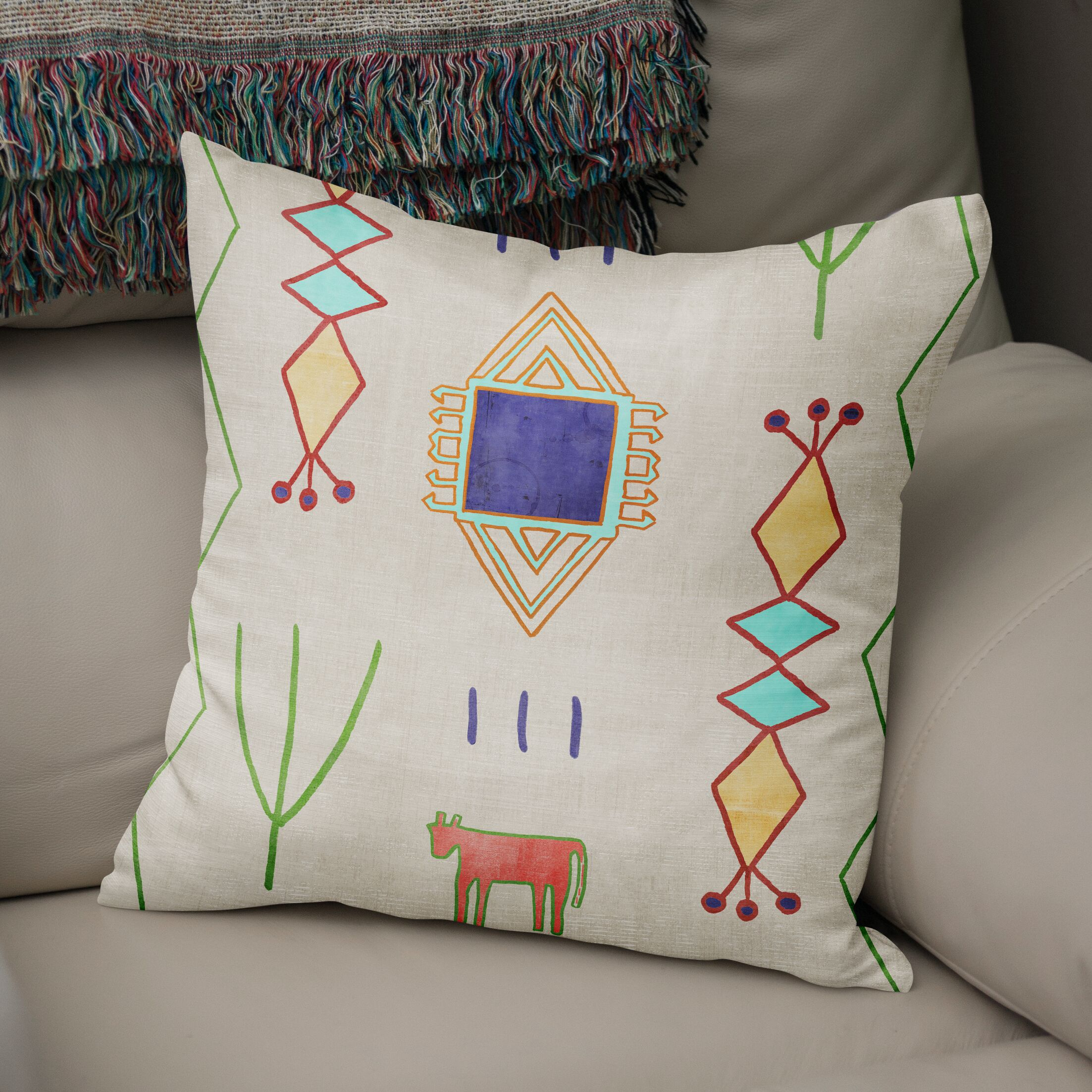 Chrarda Accent Pillow Size: 16