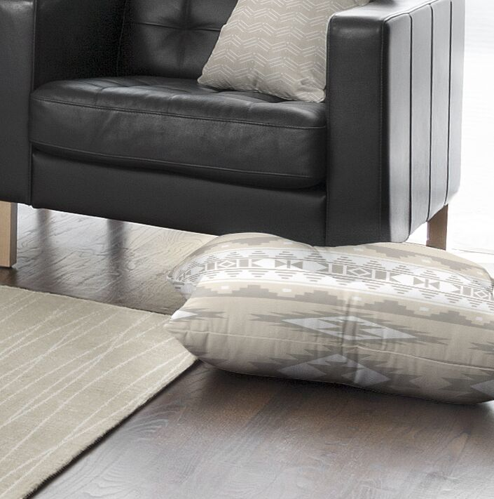 Cherokee Square Floor Pillow Size: 23
