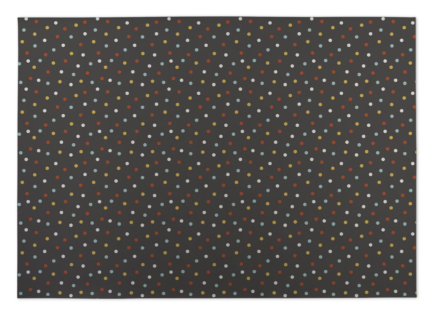 Night Sky Brown/Yellow/Red Indoor/Outdoor Doormat Mat Size: Rectangle 5' x 7'