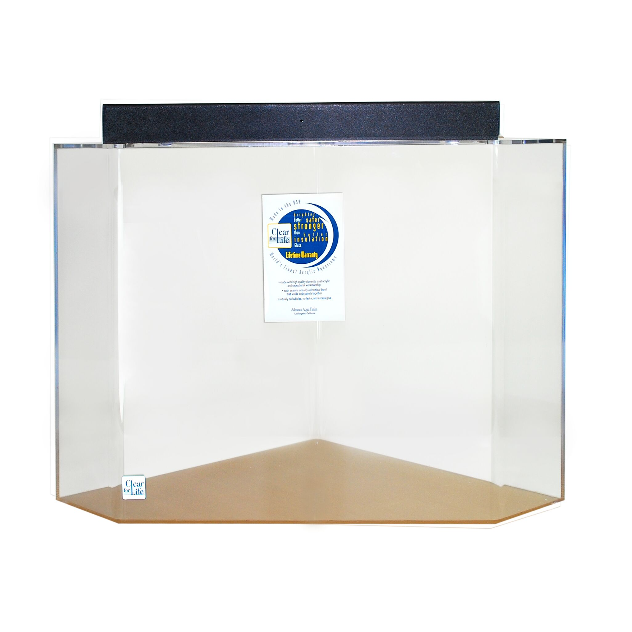 Mullin Pentagon Acrylic Aquarium Tank Size: 24