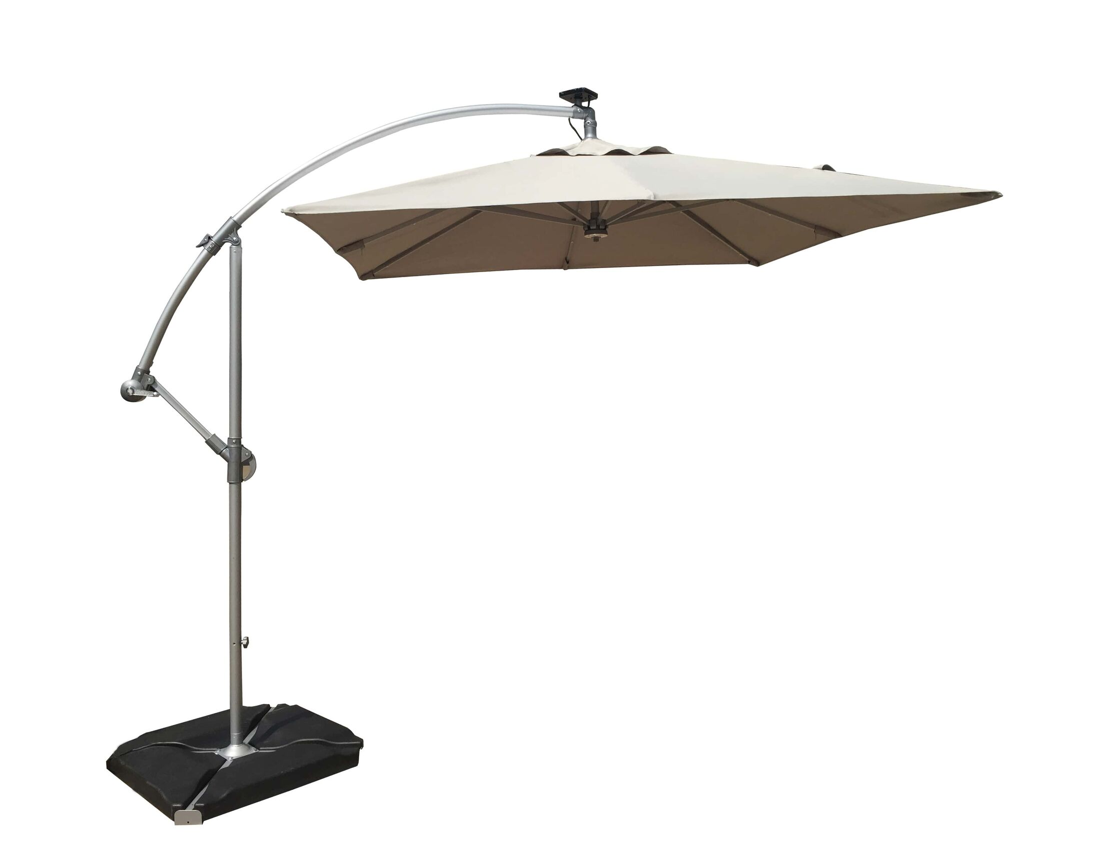 8' Cantilever Umbrella Color: Gray