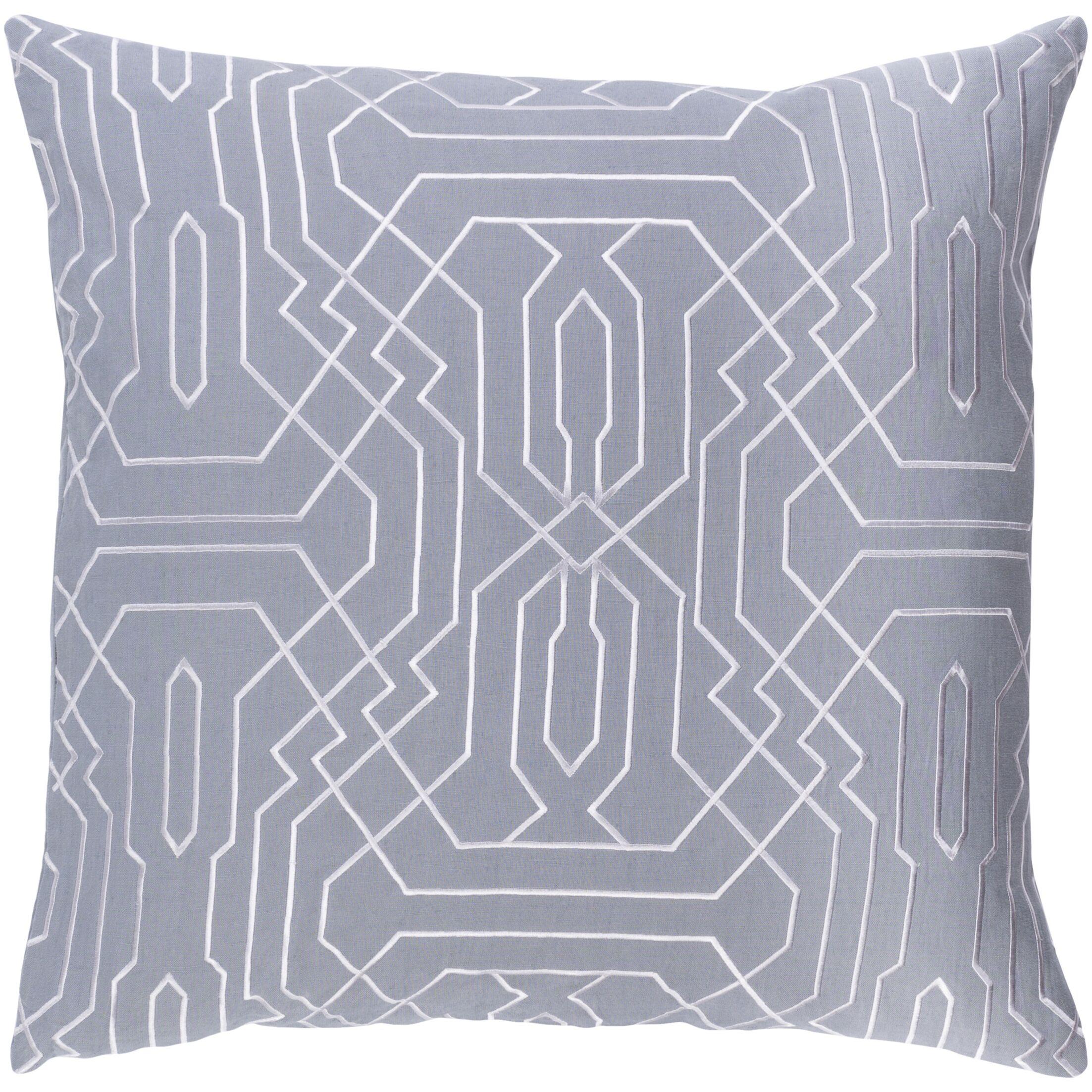 Ridgewood Throw Pillow Size: 22