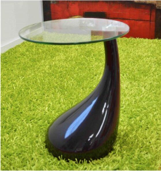 Nelda End Table Color: Black