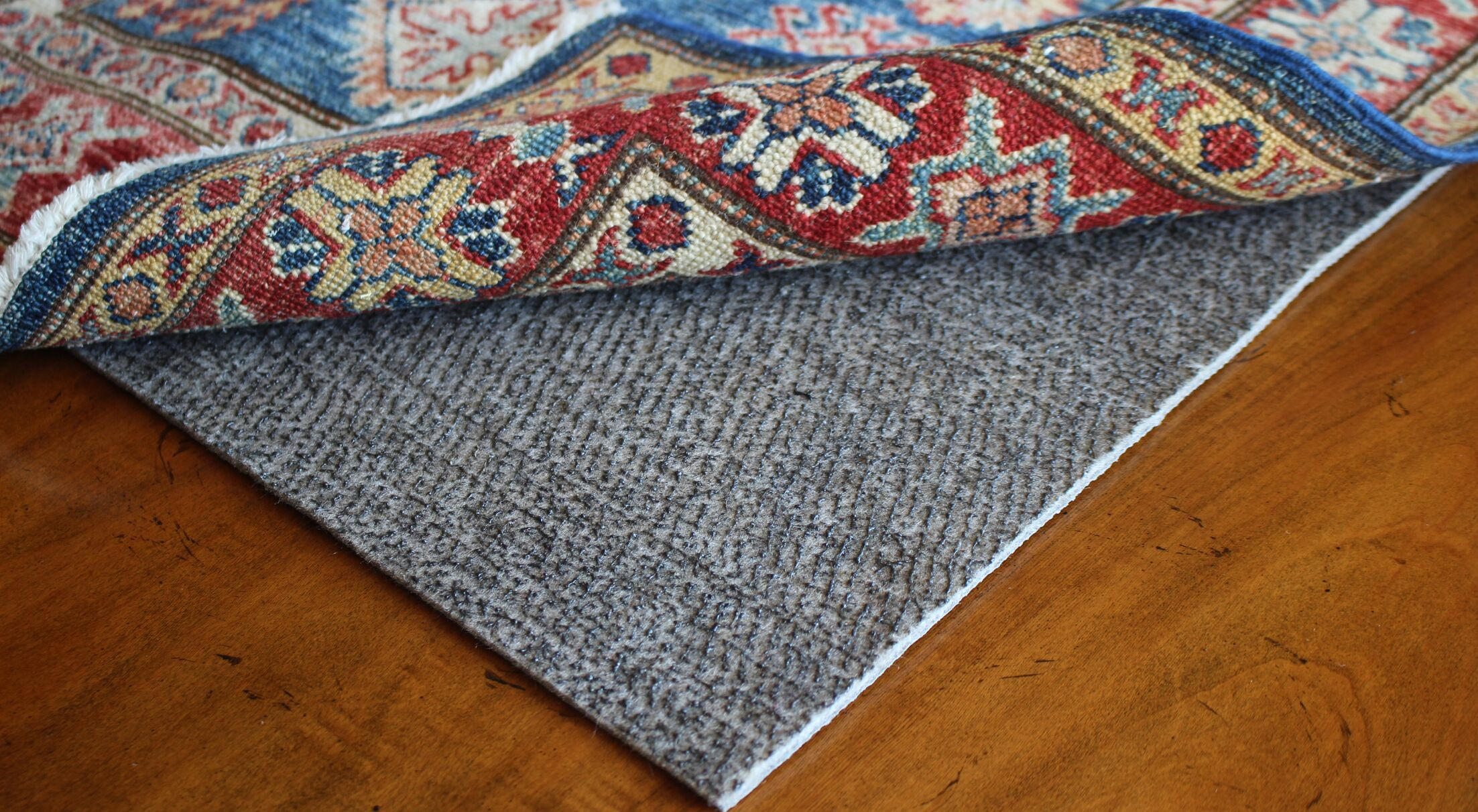 Contour Lock Felt and Rubber Rug Pad Rug Pad Size: Rectangle 6' x 10'