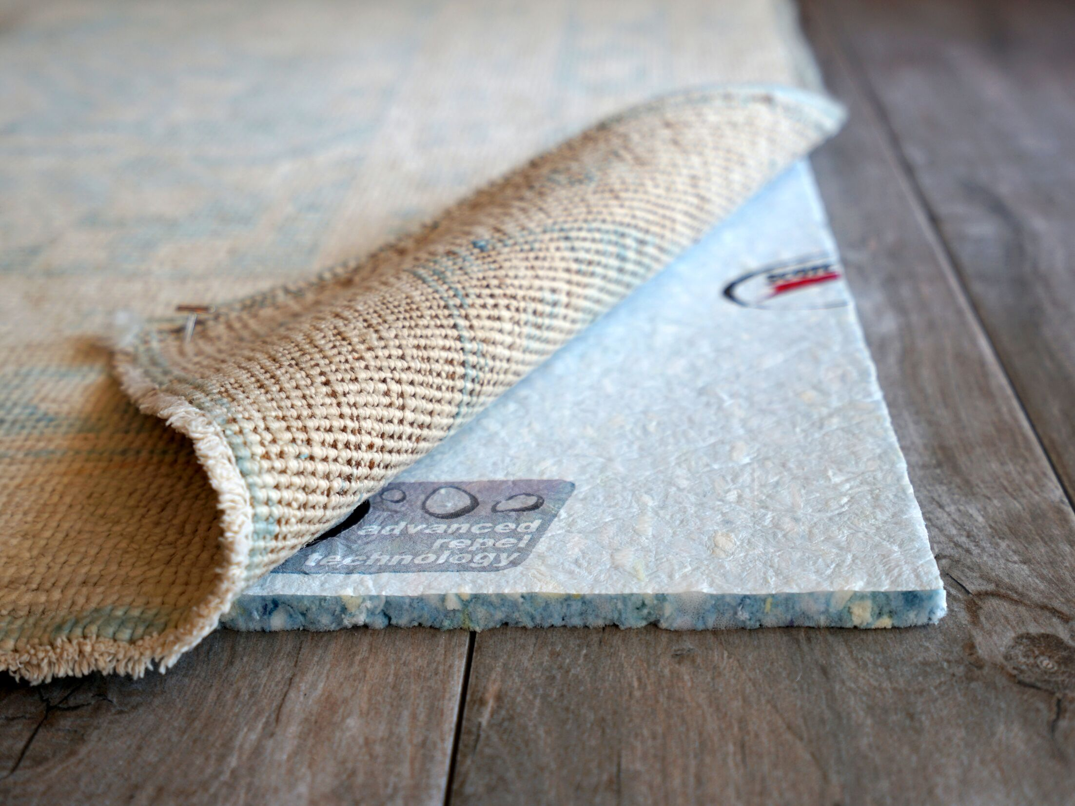 Spill Tech Scotchguard 3M Waterproof with Advanced Repel Technology Rug Pad Rug Pad Size: Round 8'