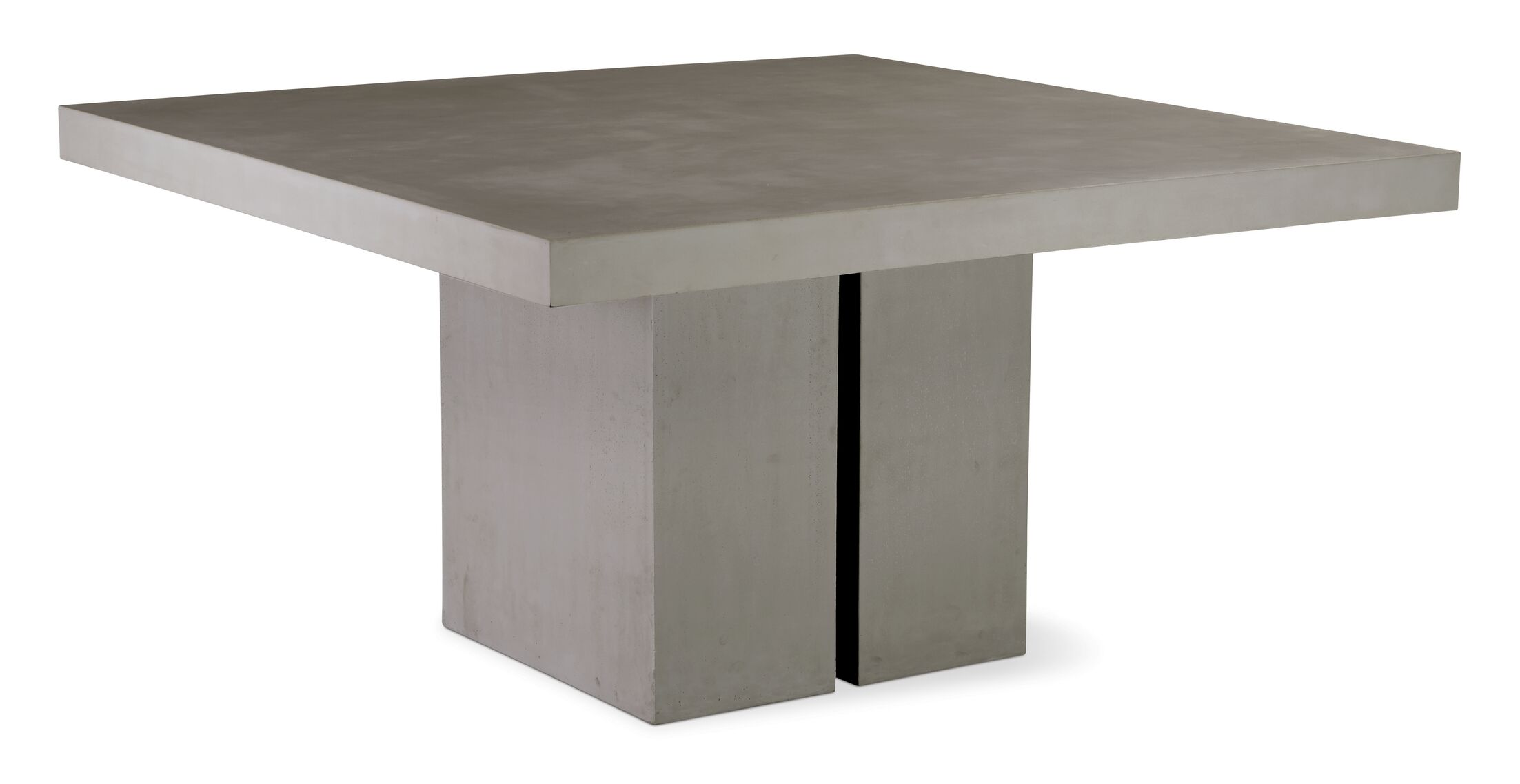 Perpetual Delapan Concrete Coffee Table Finish: Slate Gray