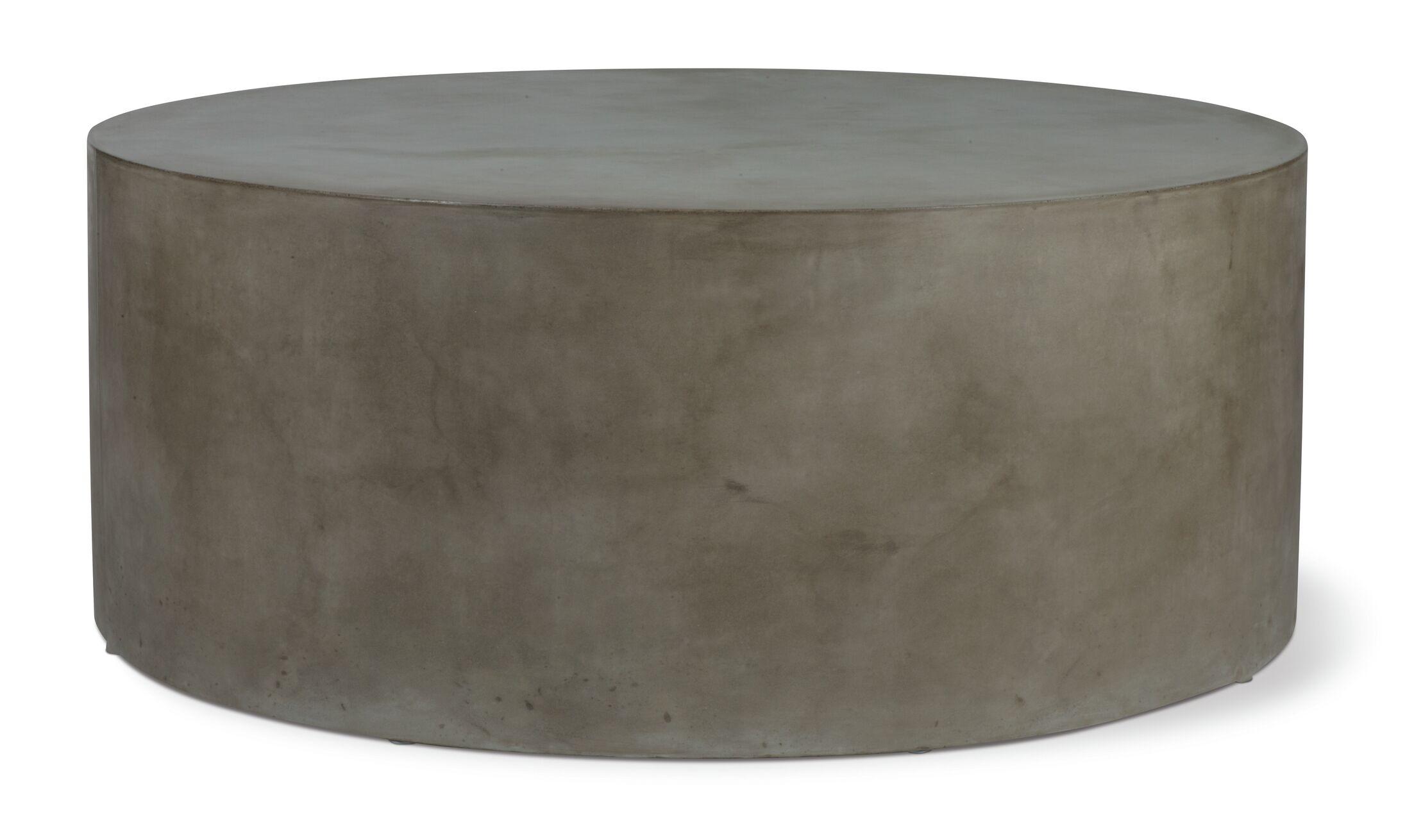 Perpetual Grand Louie Concrete Coffee Table Finish: Slate Gray