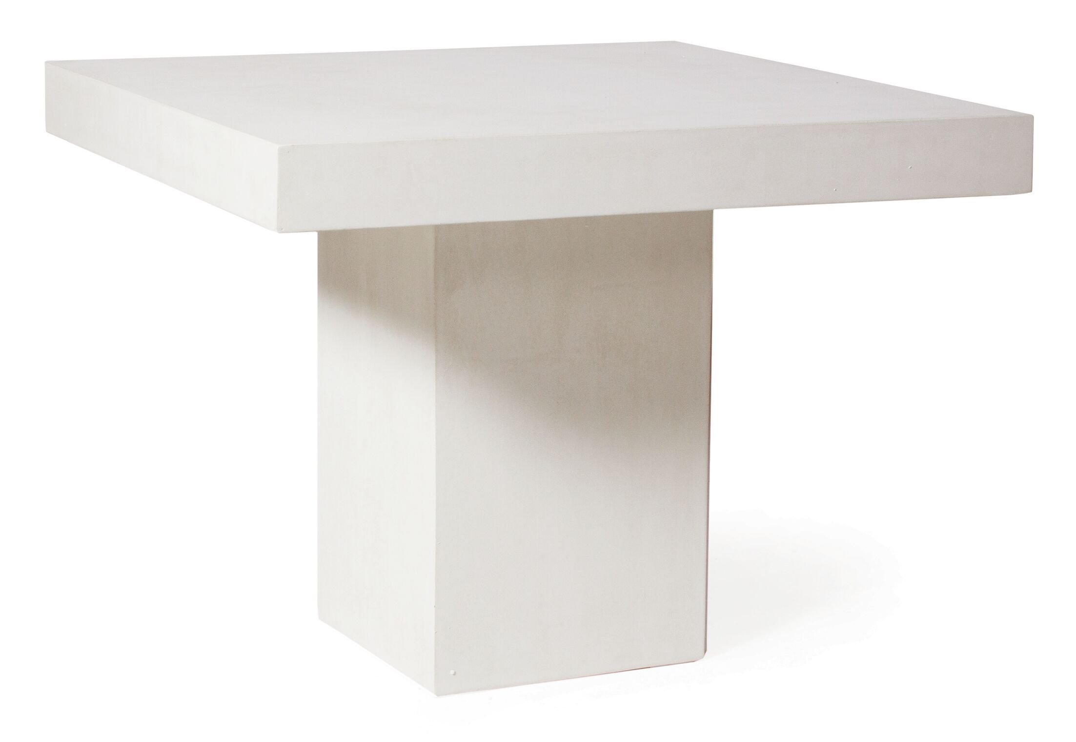 Perpetual Provence Concrete Dining Table Finish: Ivory White