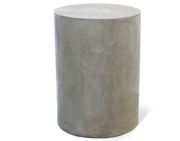 Perpetual Ben Concrete Side Table Finish: Slate Gray