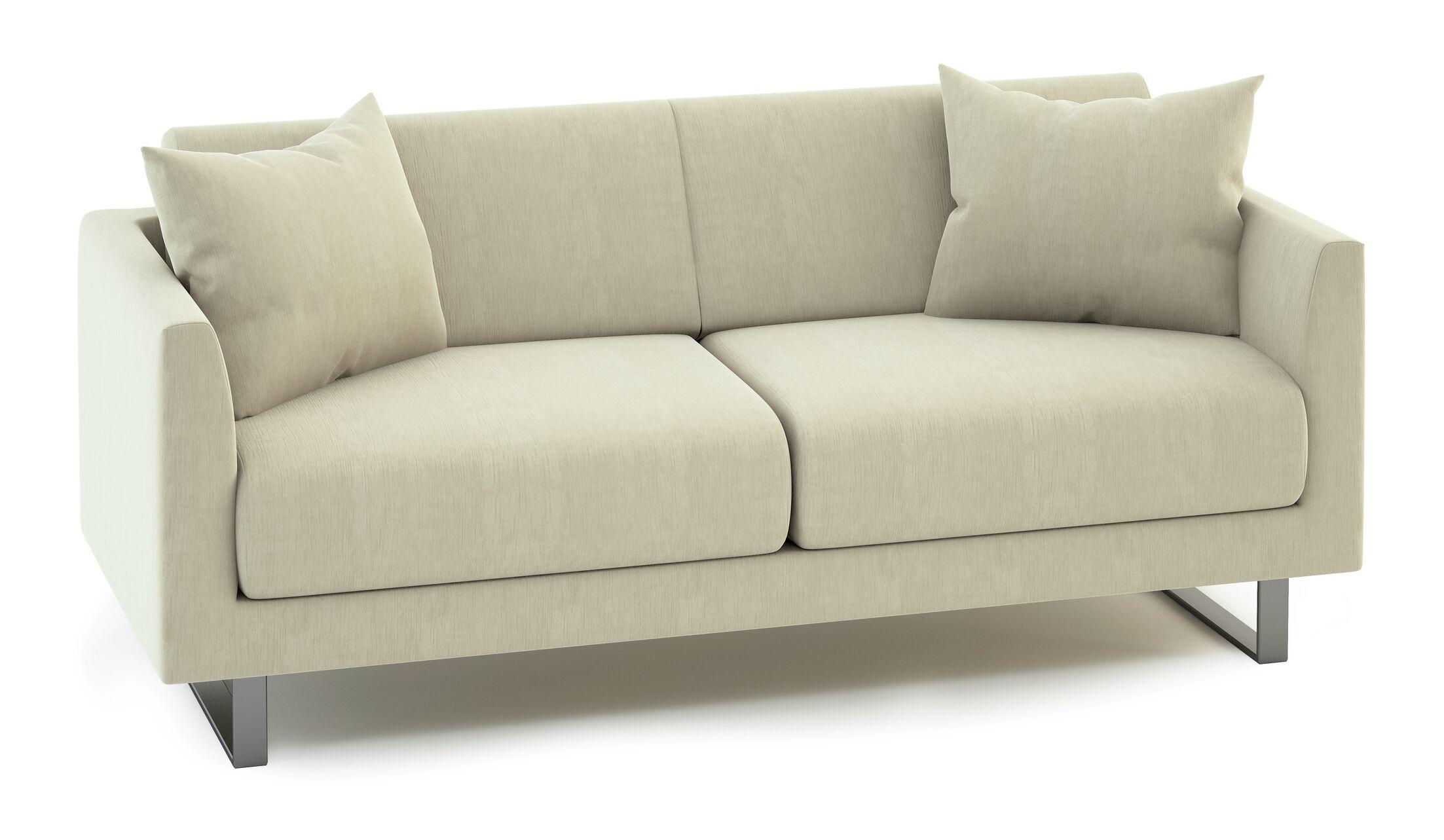 Fizz Mellini Urban Patio Sofa Fabric Color: Canvas Air Blue