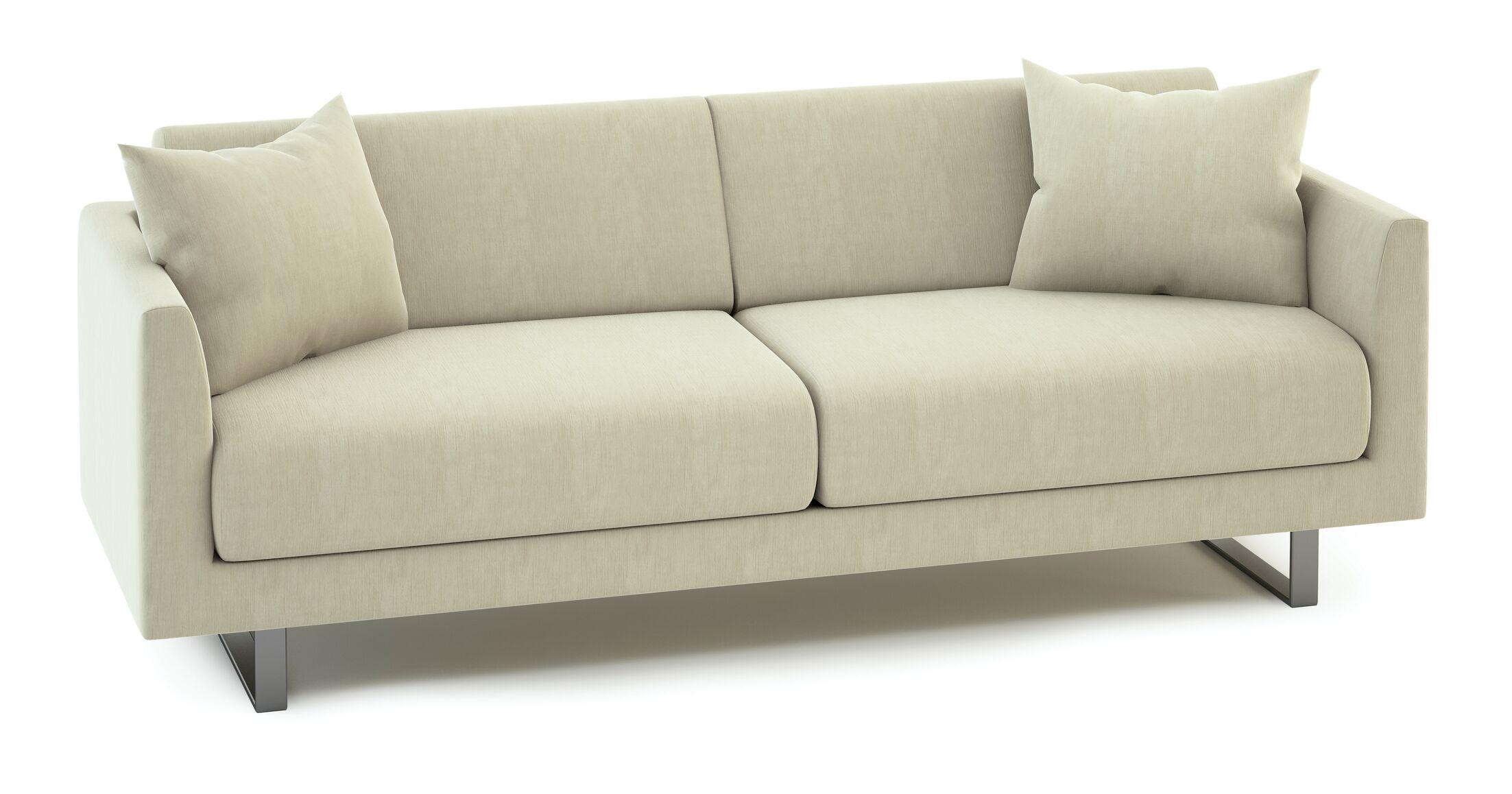 Fizz Mellini Patio Sofa Fabric Color: Canvas True Blue