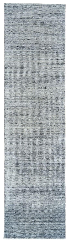 Ewell Hand-Woven Gray/Haze Area Rug Rug Size: Runner 2'6