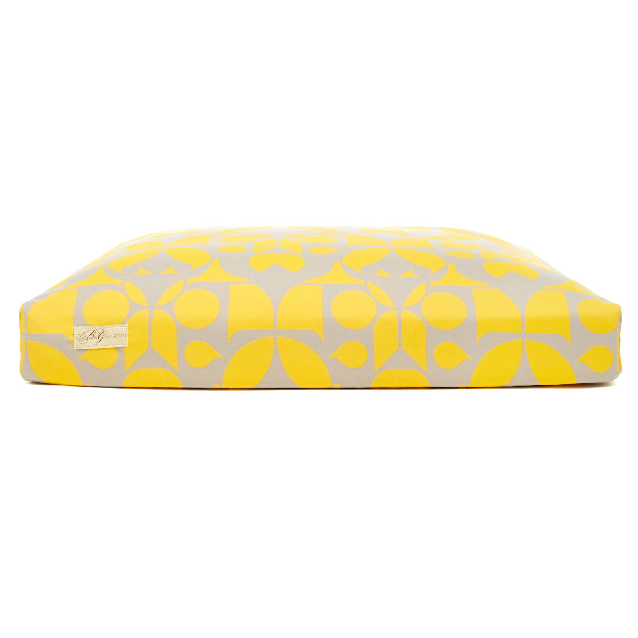 Faux Down Cushion Dog Bed Size: Small (18
