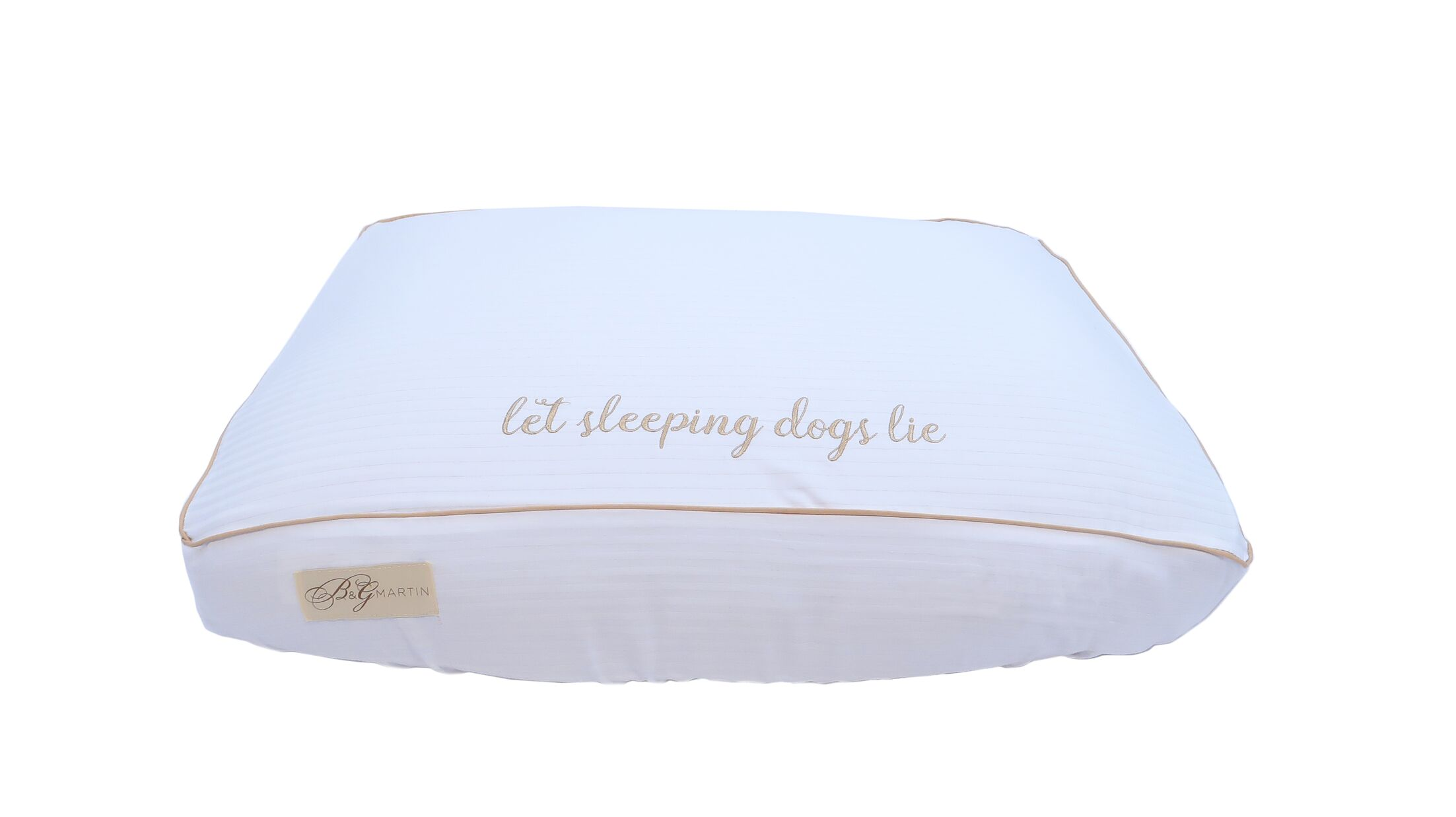 Let Sleeping Dogs Lie Cotton Fitted Bed Cover Size: Small (7