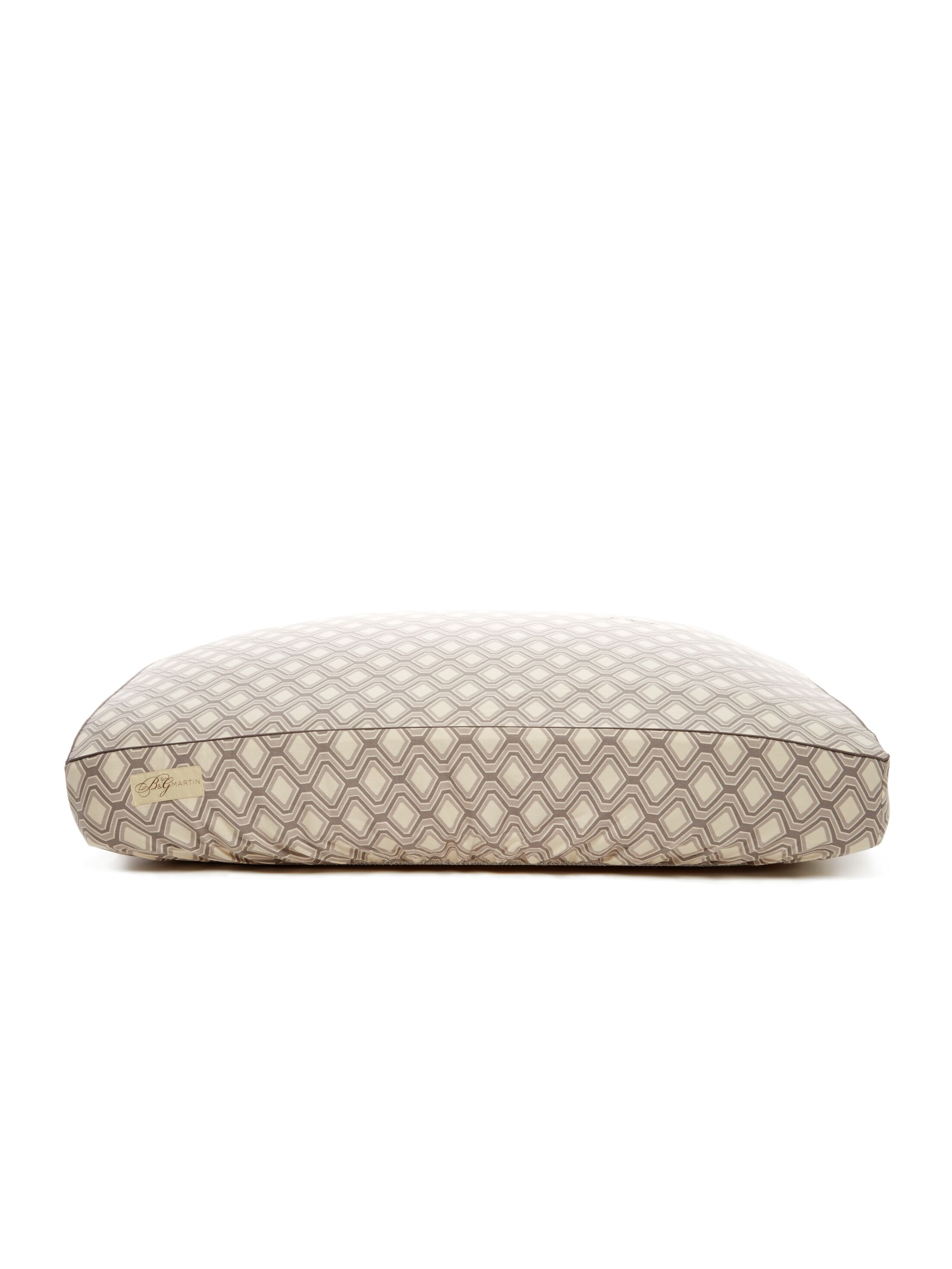 Deluxe Geometric Dog Bed Cover Size: Large (26