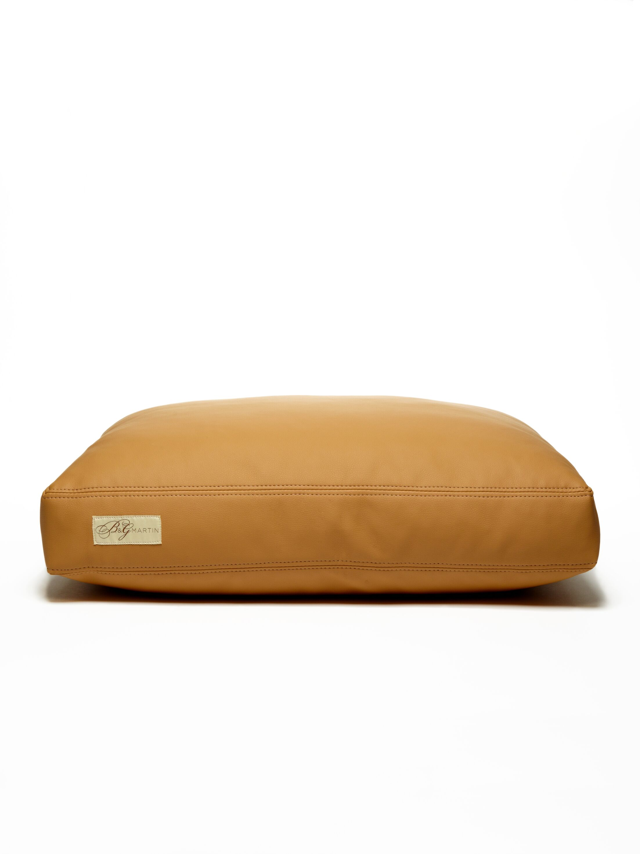 Faux Leather Foam and Faux Down Cushion Dog Bed Size: Small (18