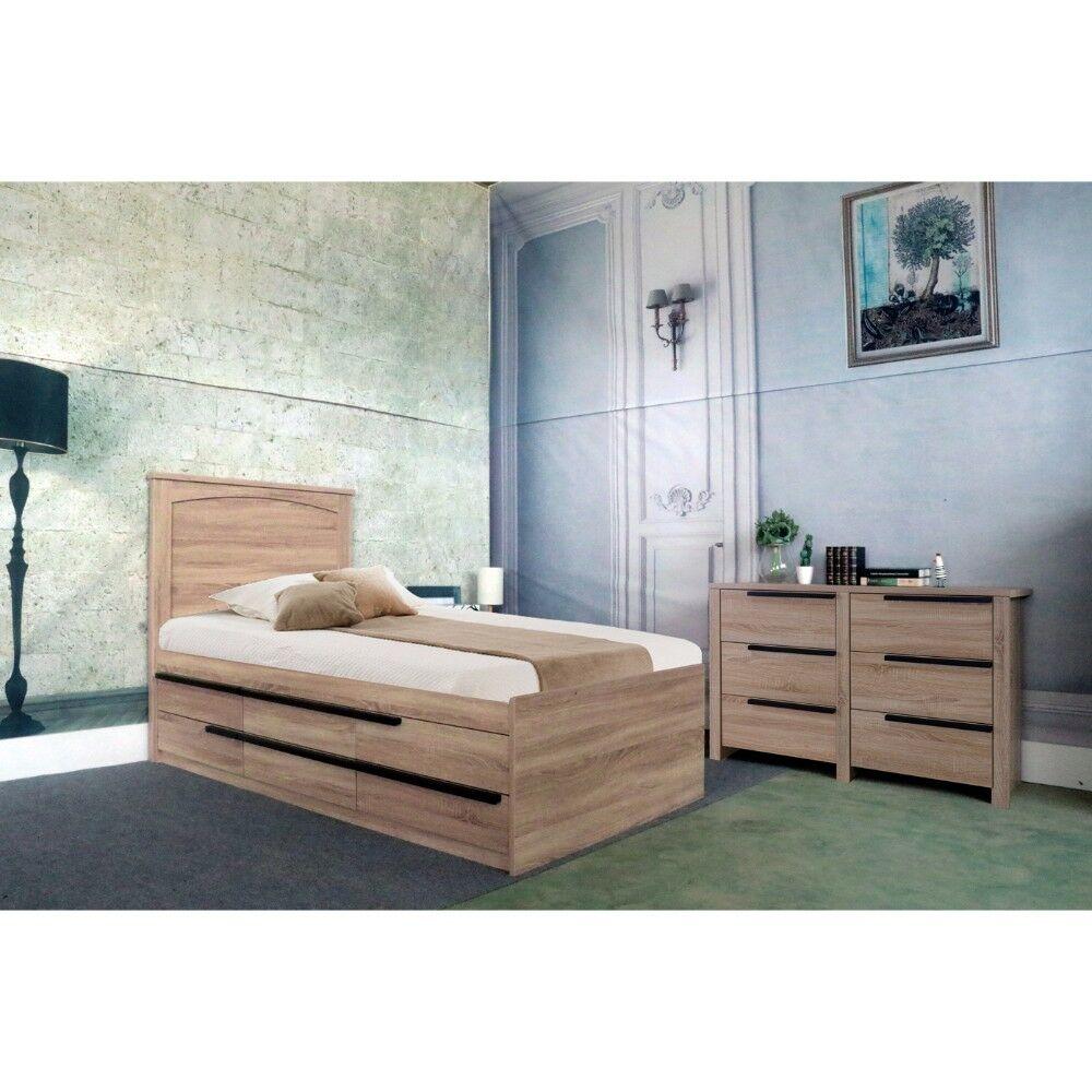 Clegg Twin Storage Platform Bed