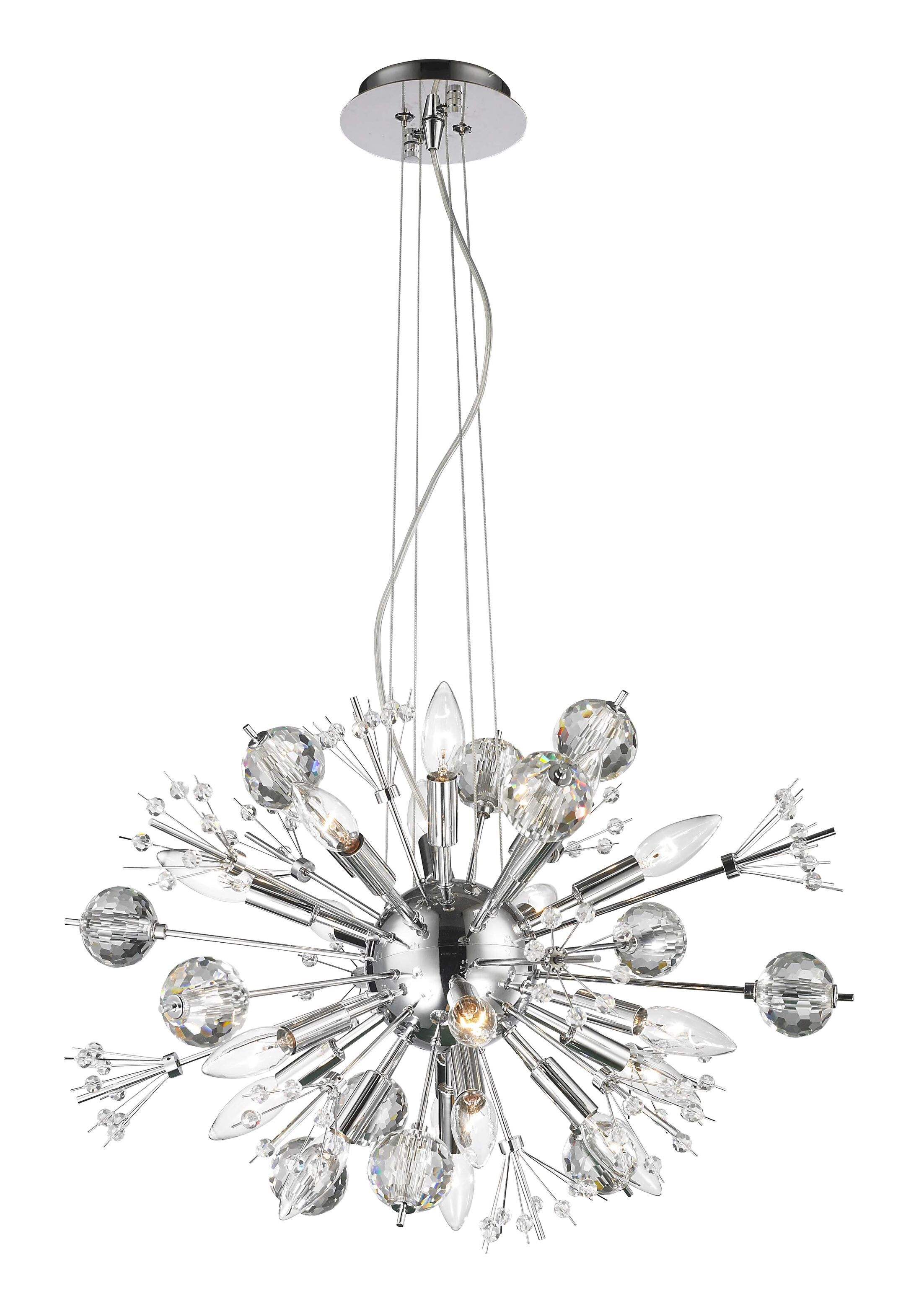 Kinch 20-Light Sputnik Chandelier