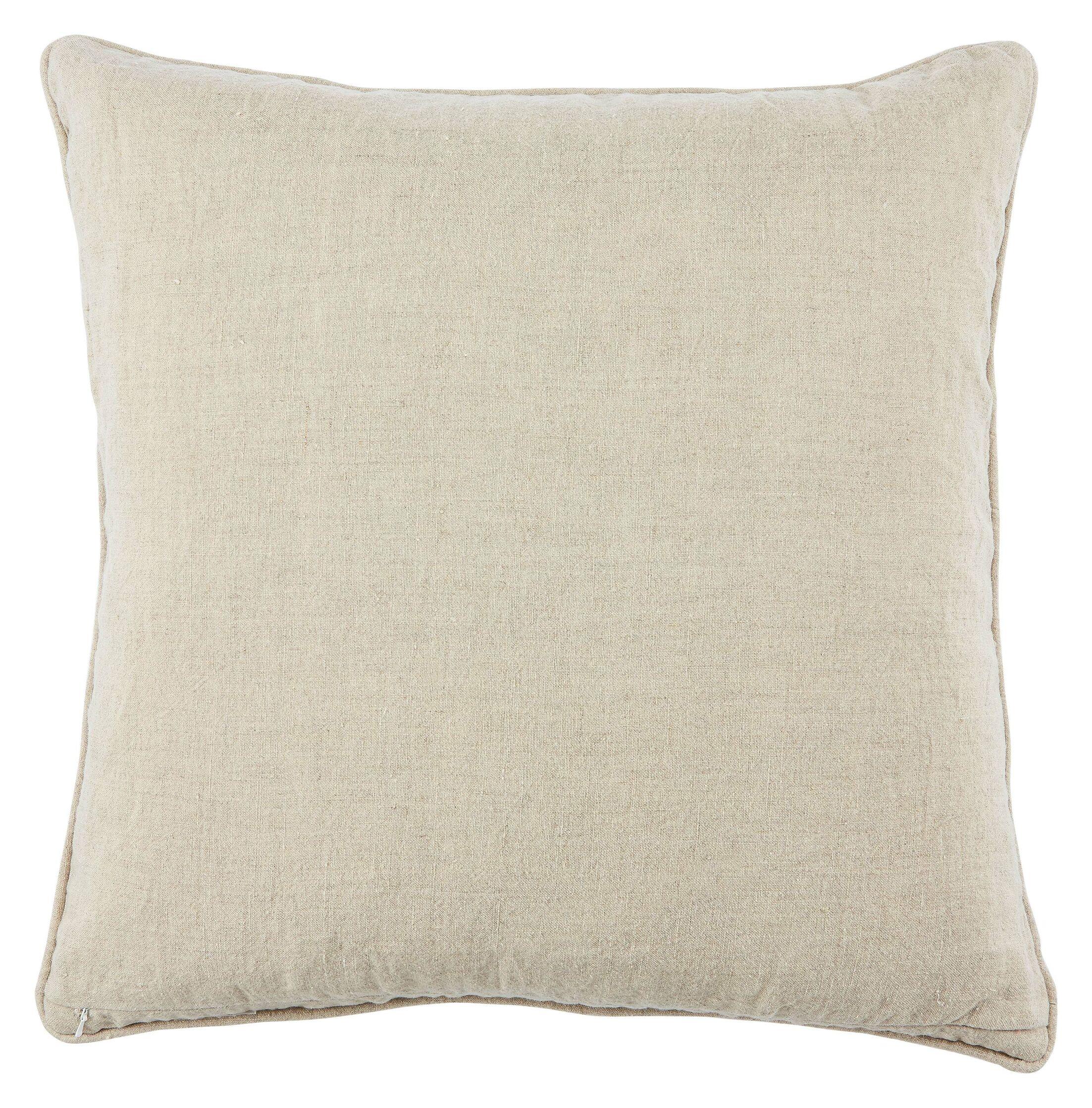 Tadashi Linen Throw Pillow Fill Material: Polyester/Polyfill