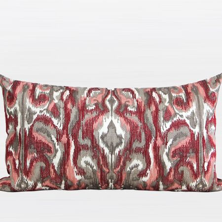 Luxury European Classical Embroidered Lumbar Pillow