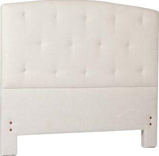 Eloise Upholstered Panel Headboard Size: Queen, Upholstery: Zulu Vanilla