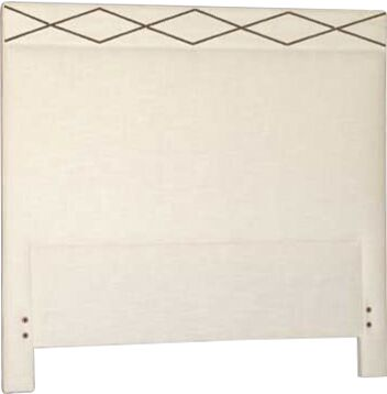 Thayer Upholstered Panel Headboard Size: Queen, Upholstery: Zulu Feather