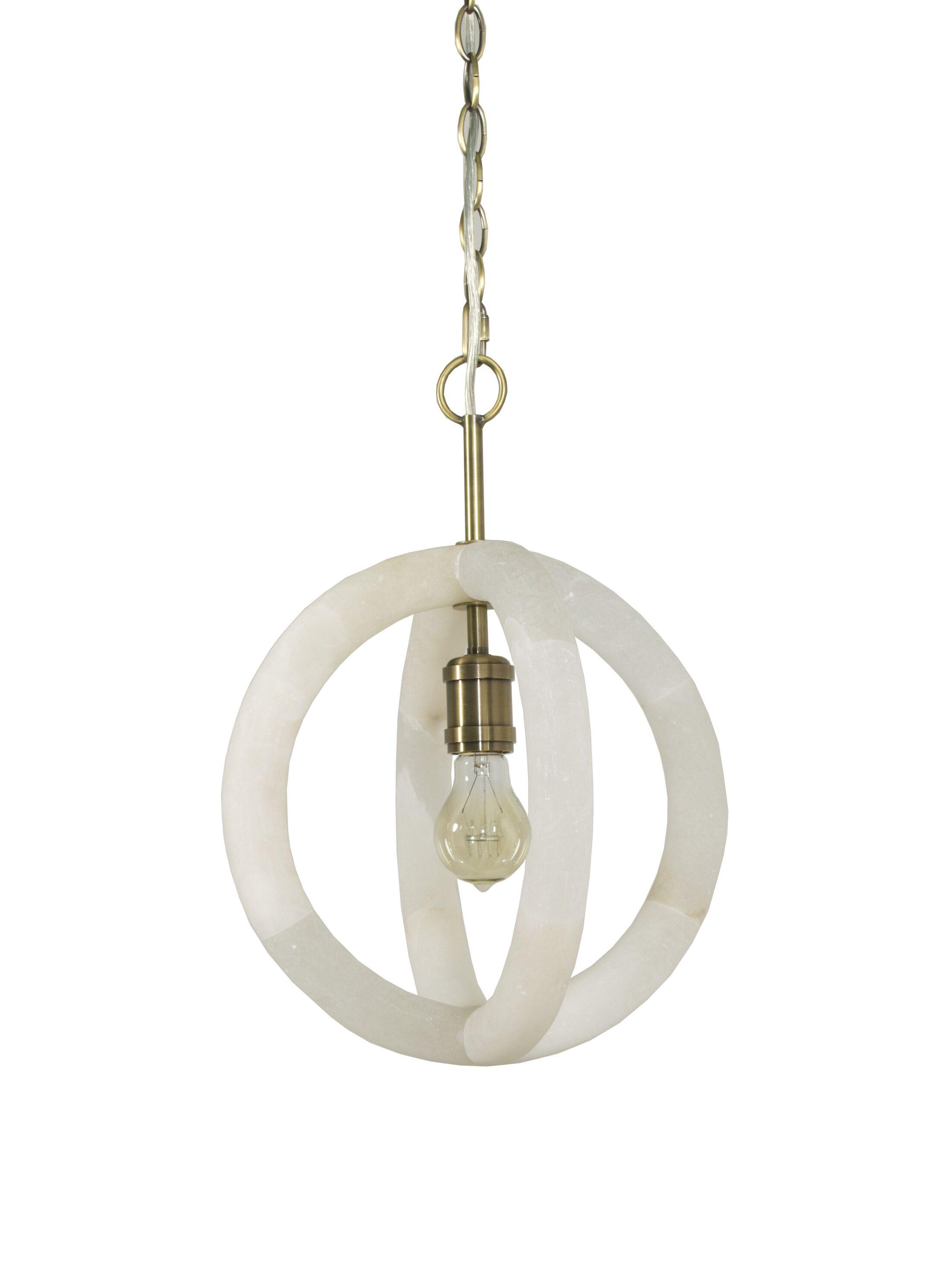 Mallory 1-Light Globe Pendant