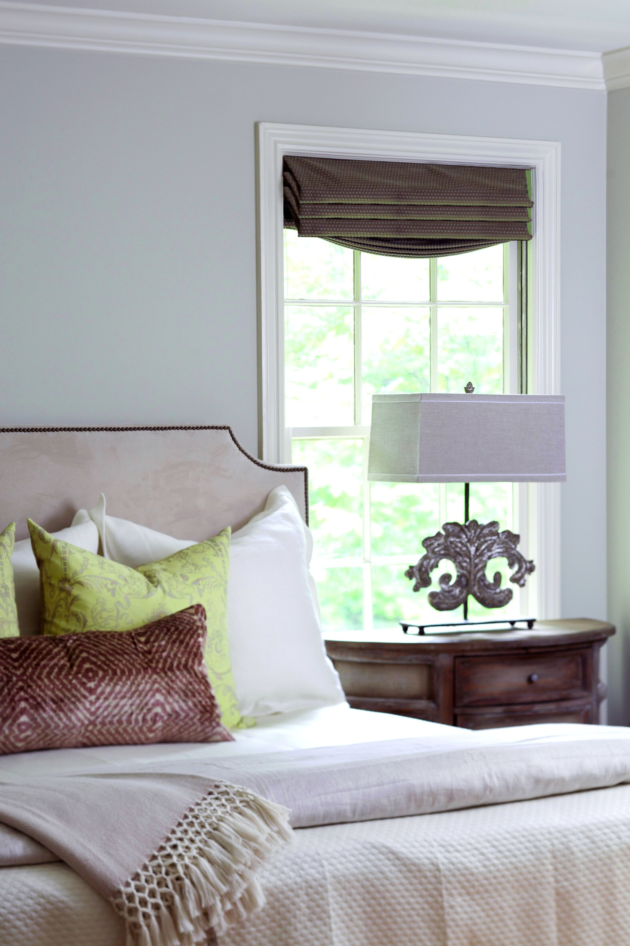 Clara Upholstered Panel Headboard Size: Twin, Upholstery: Zulu Feather