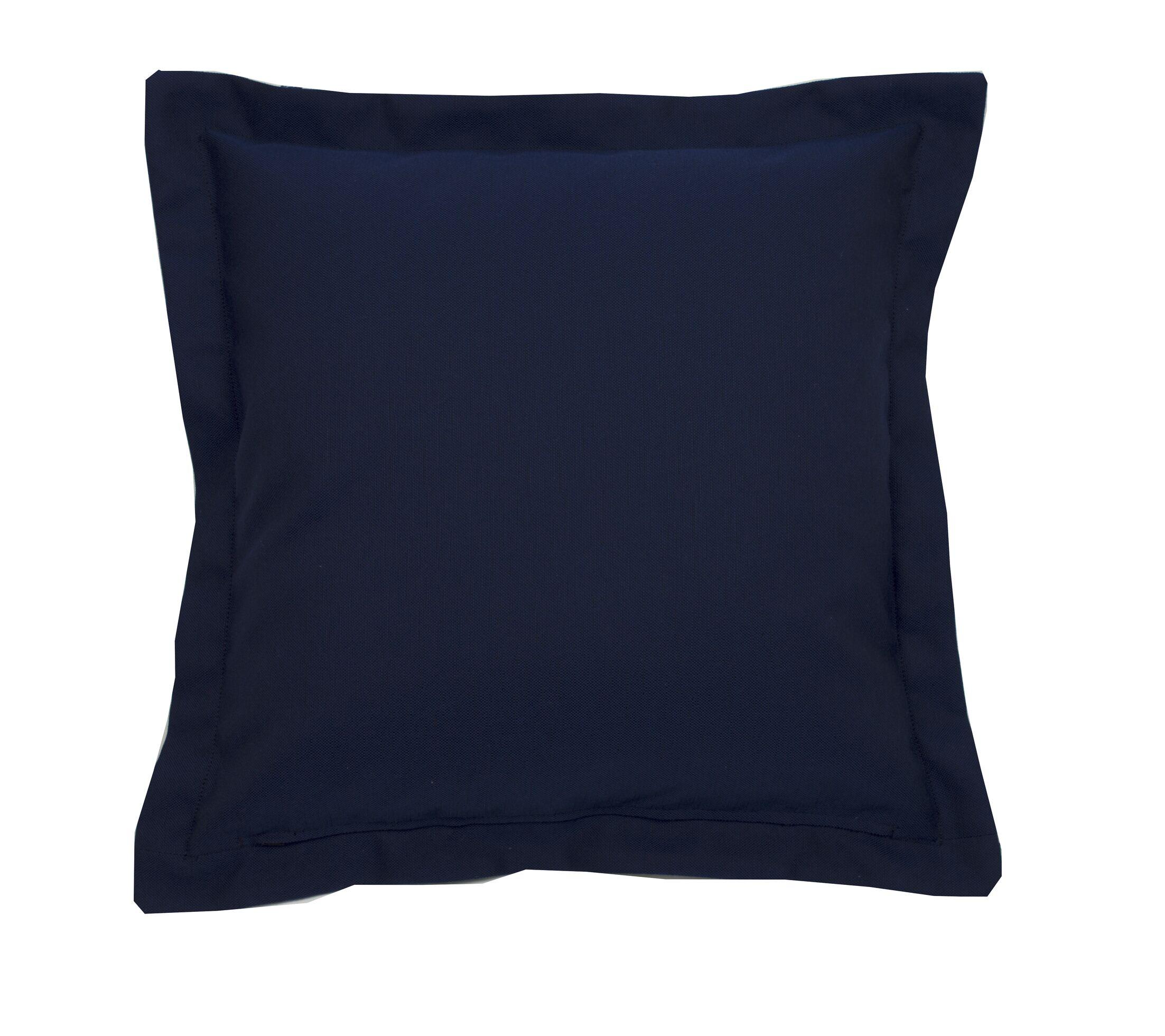 Linen Indoor/Outdoor Throw Pillow (Set of 2) Size: 17