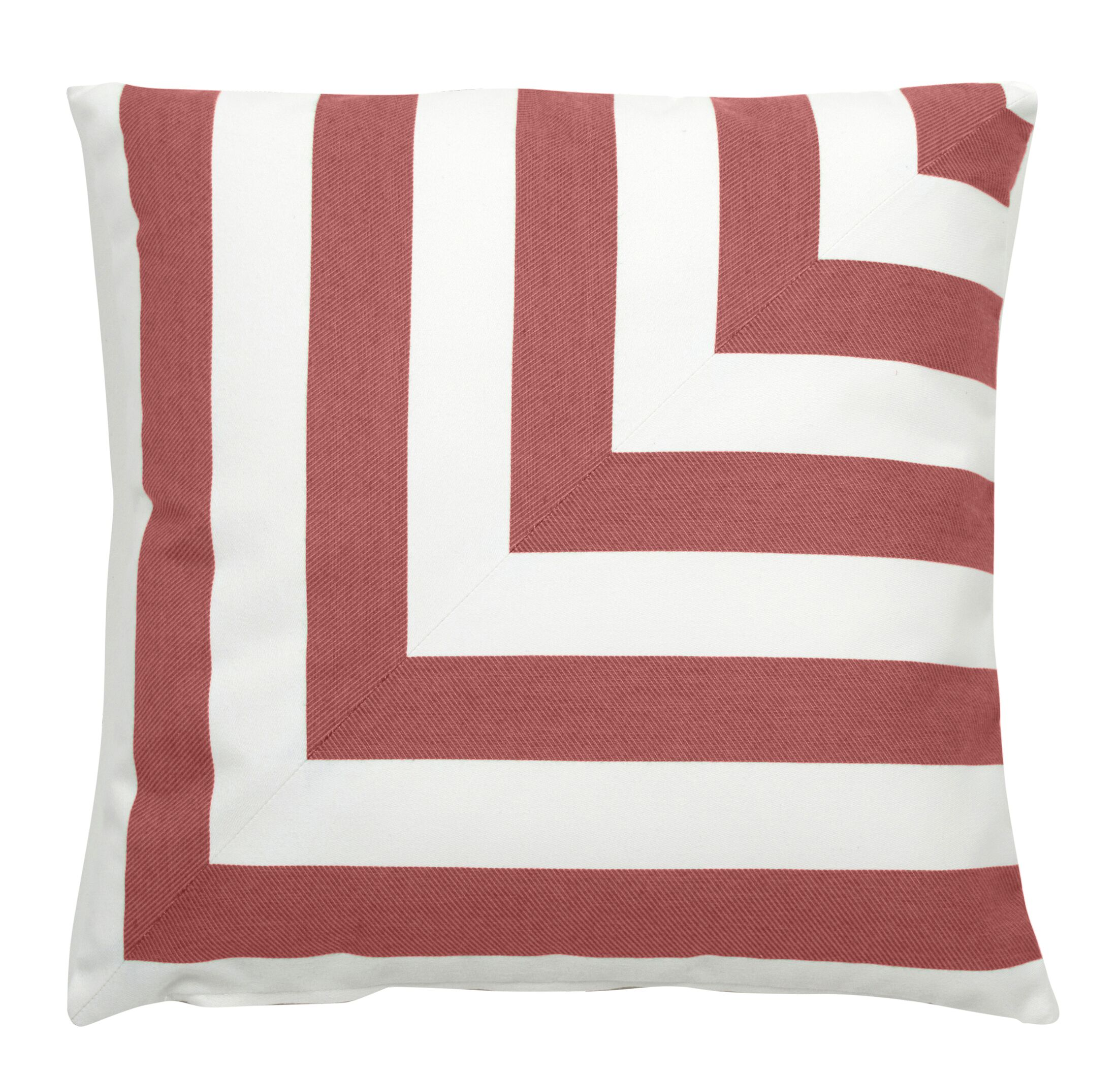 Halo Indoor/Outdoor Throw Pillow (Set of 2) Color: Flamingo, Size: 24