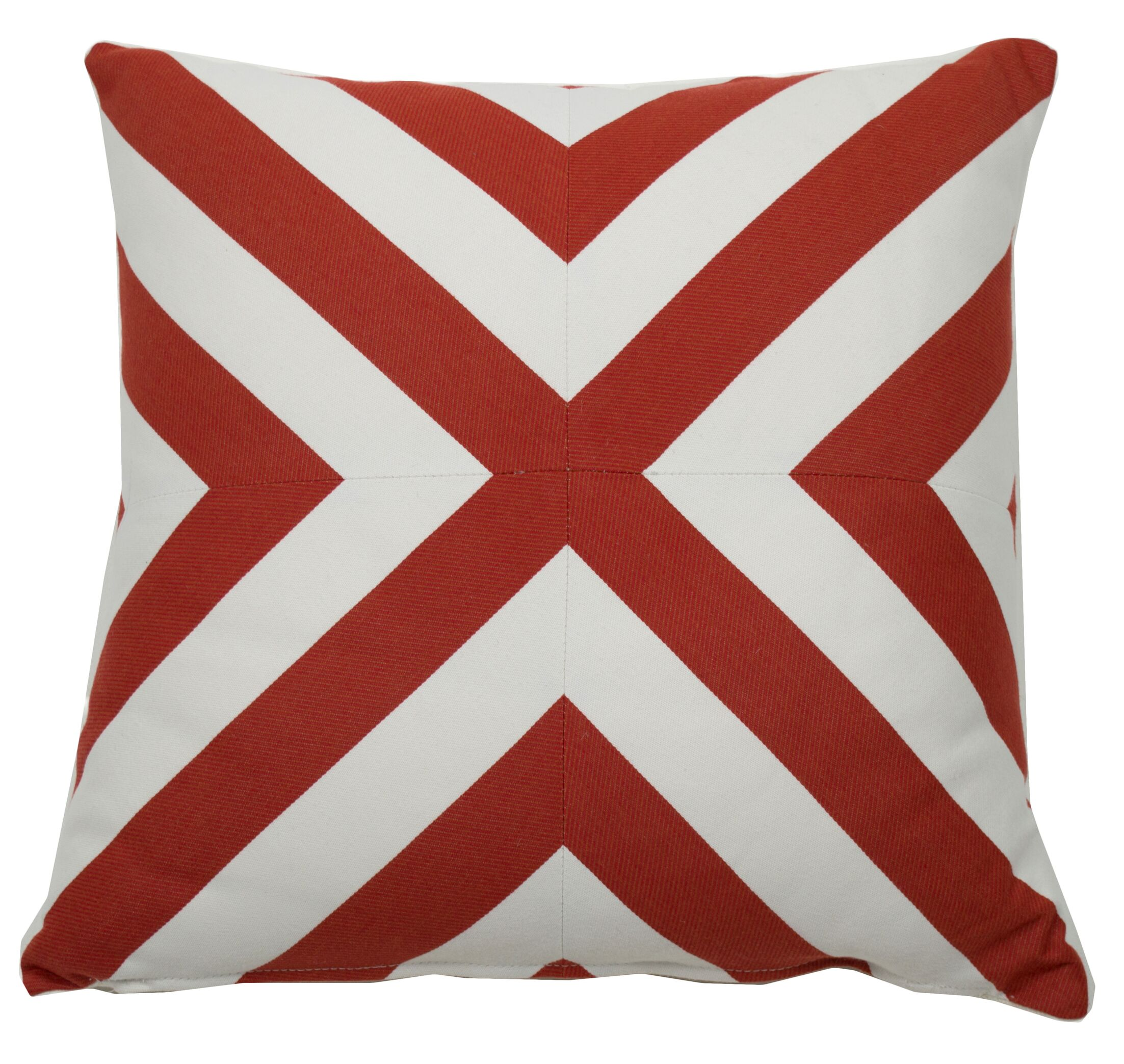 Halo Indoor/Outdoor Throw Pillow (Set of 2) Size: 22