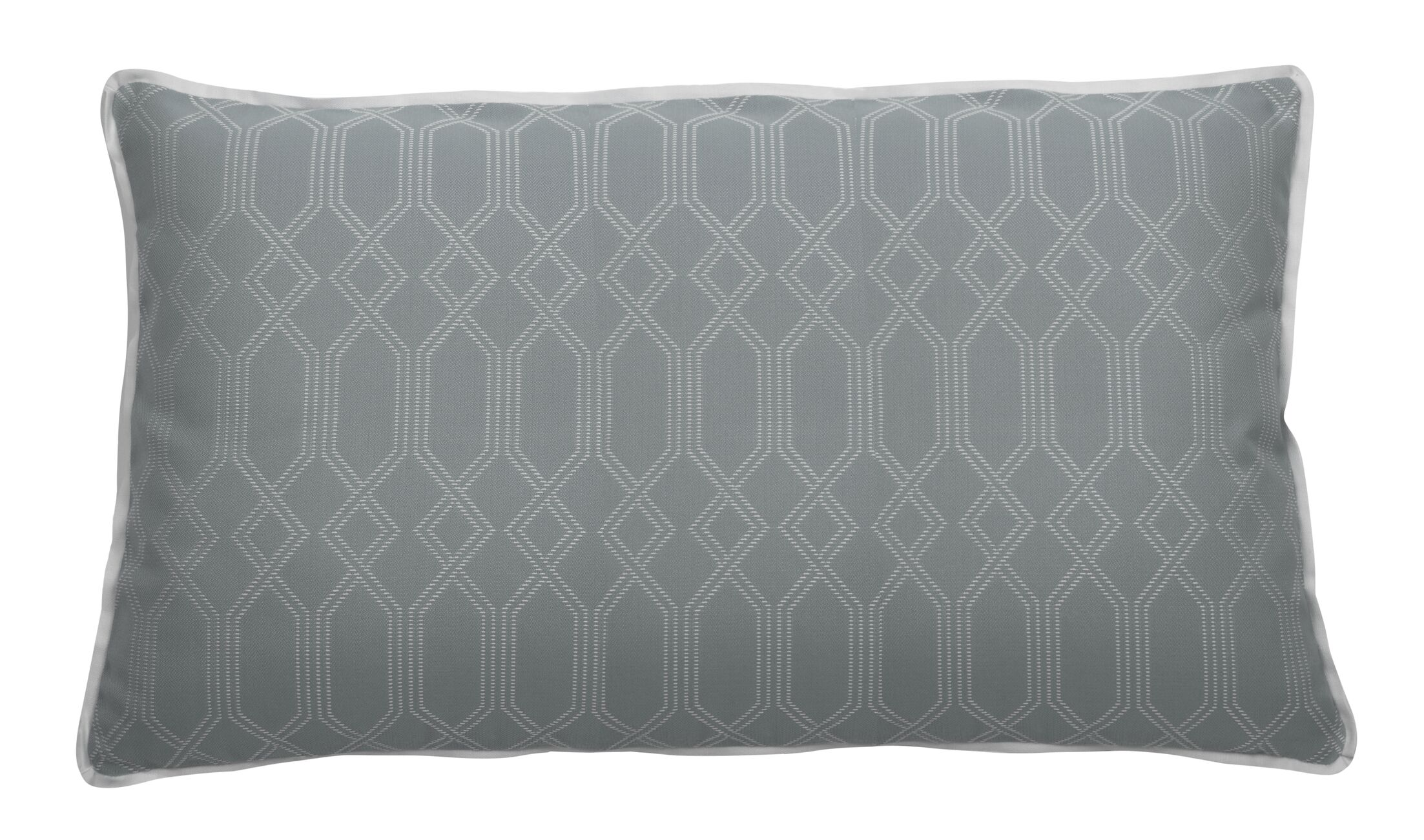 Connection Indoor/Outdoor Lumbar Pillow (Set of 2) Color: Mist