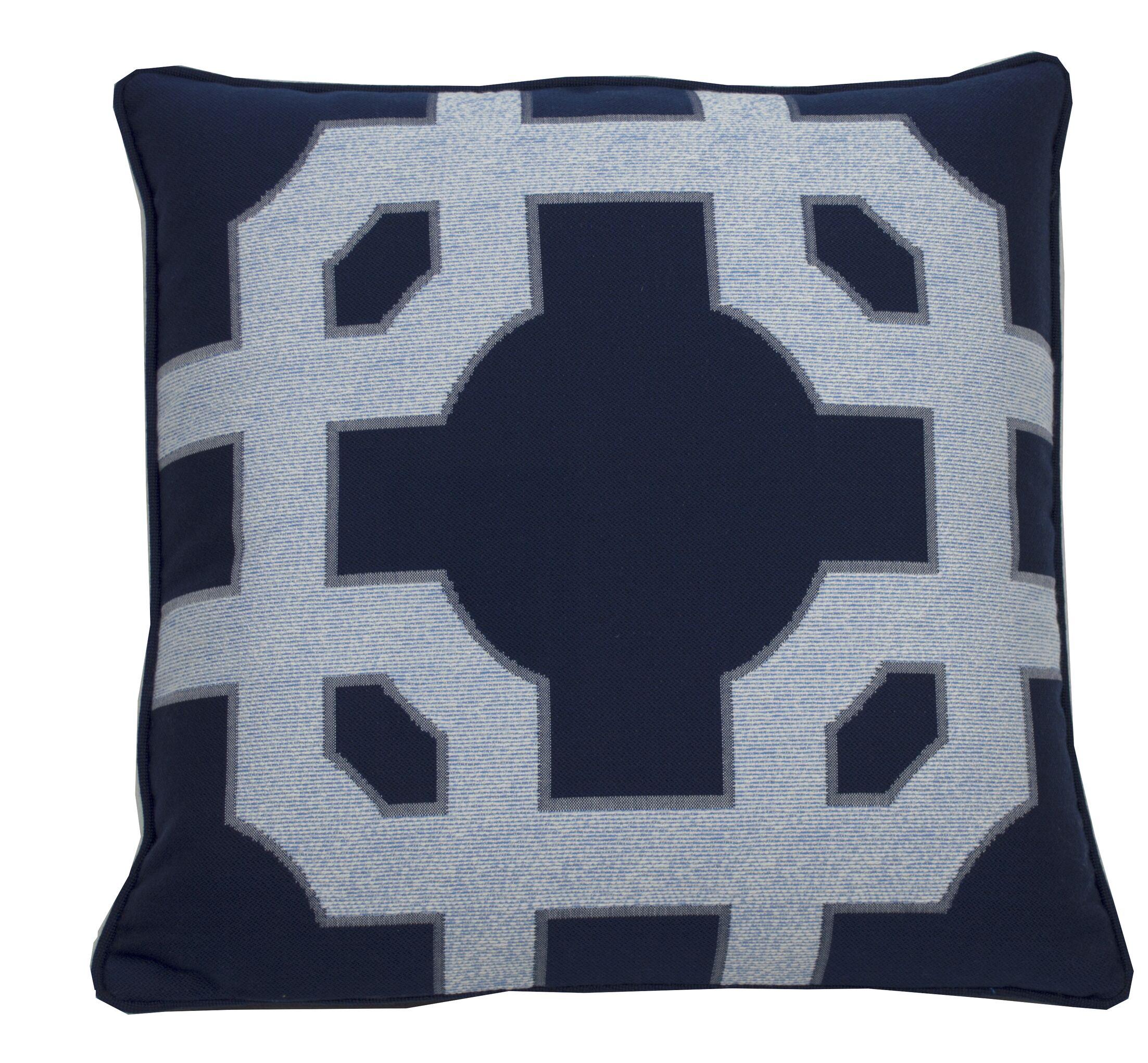 Fortune Indoor/Outdoor Throw Pillow (Set of 2) Size: 20