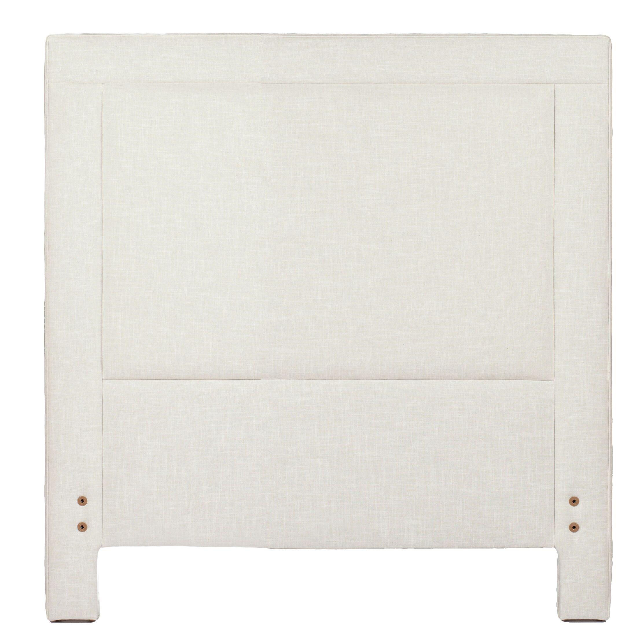 Sloan Upholstered Panel Headboard Size: King, Upholstery: Zulu Vanilla