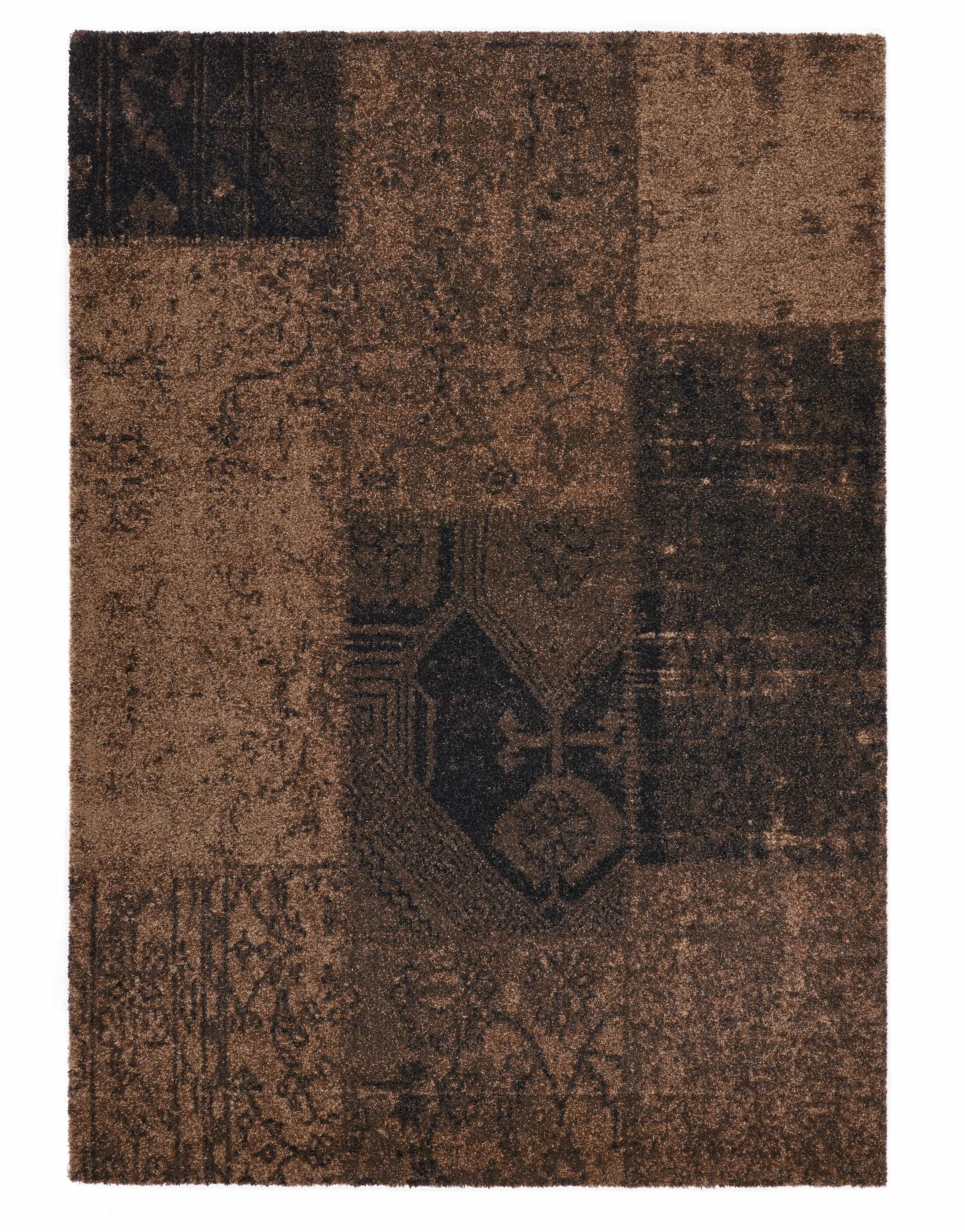 Downtown Brown Area Rug Rug Size: 6'7
