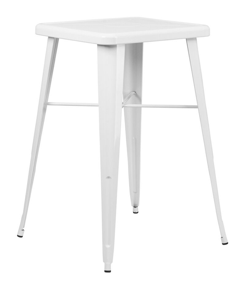 Jesse Bar Table Color: White