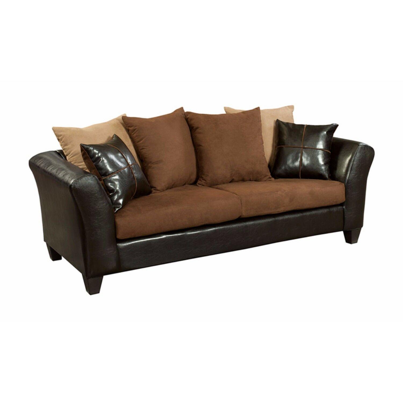 Paleczny Sofa Upholstery: Chocolate