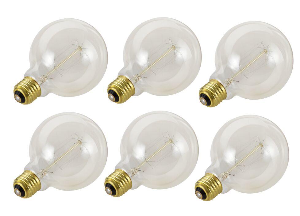 60W E26 Incandescent Vintage Filament Light Bulb
