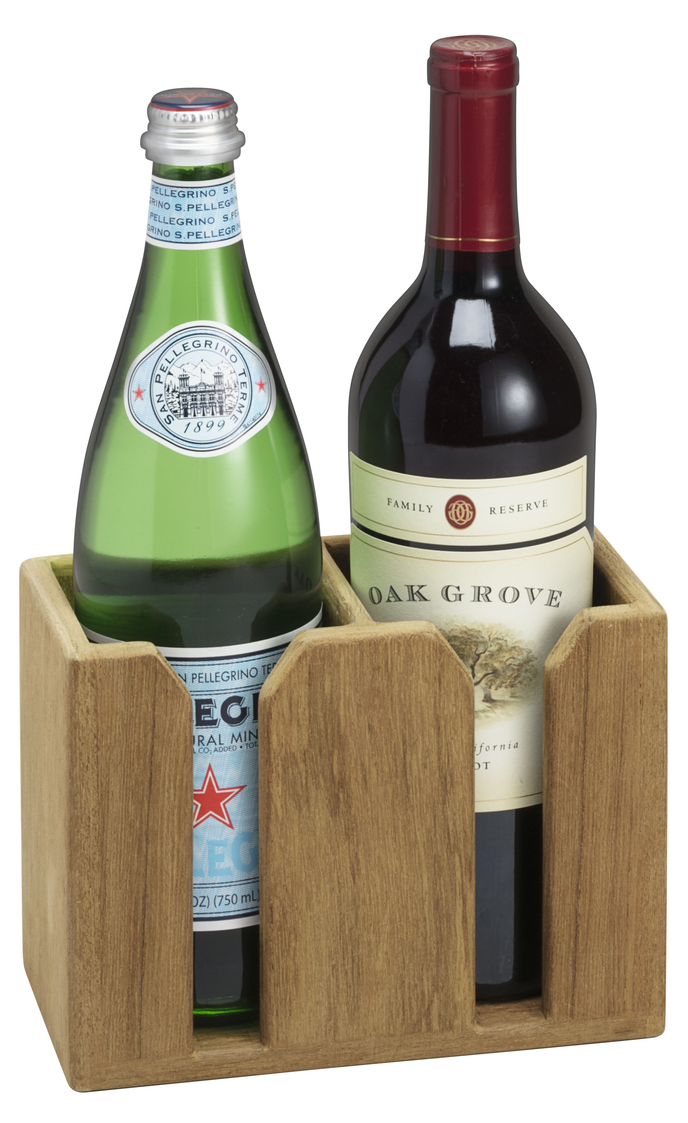2 Bottle Tabletop Wine Holder