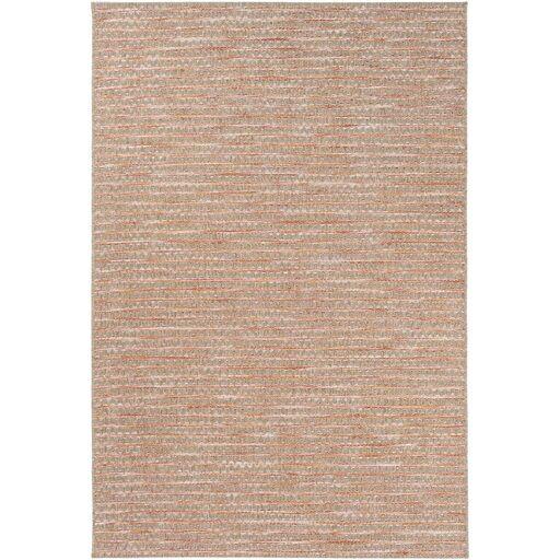 Amelia Brown/Pink Indoor/Outdoor Area Rug Rug Size: Rectangle 7'11