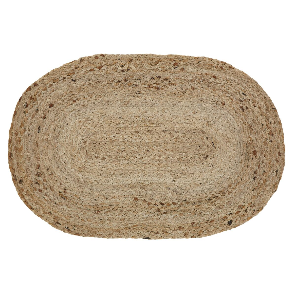 Gladys Natural Area Rug Rug Size: Oval 4' x 6'