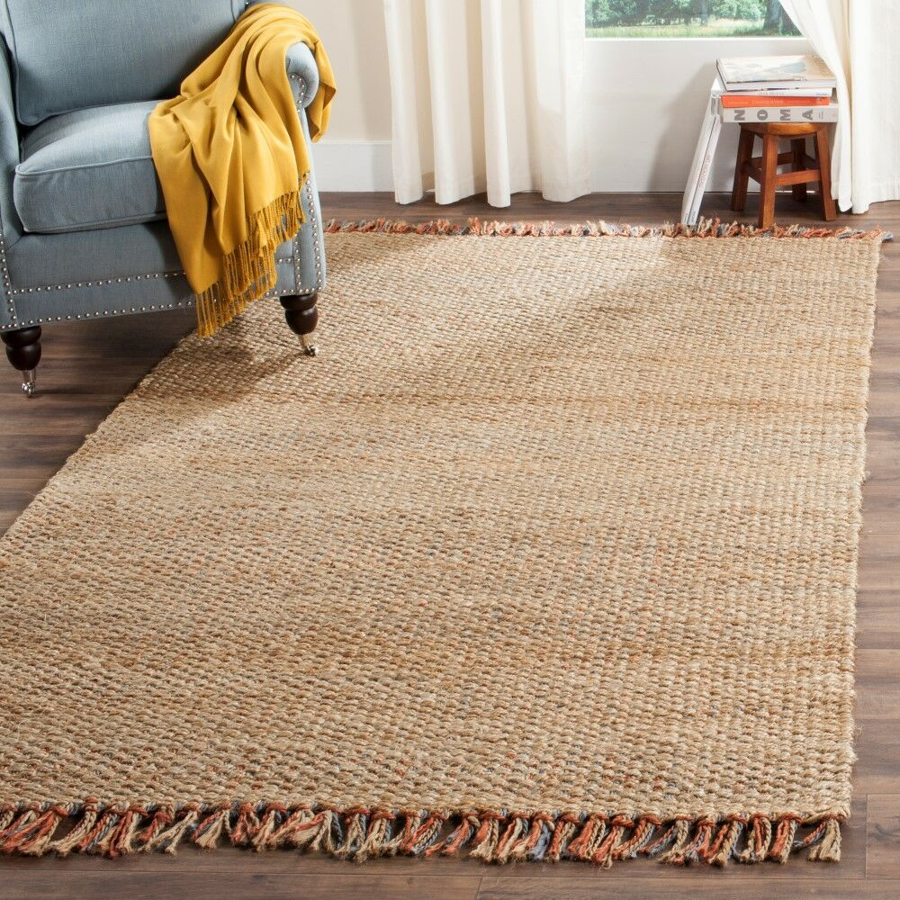 Muriel Hand Woven Brown Area Rug Rug Size: Rectangle 9' x 12'