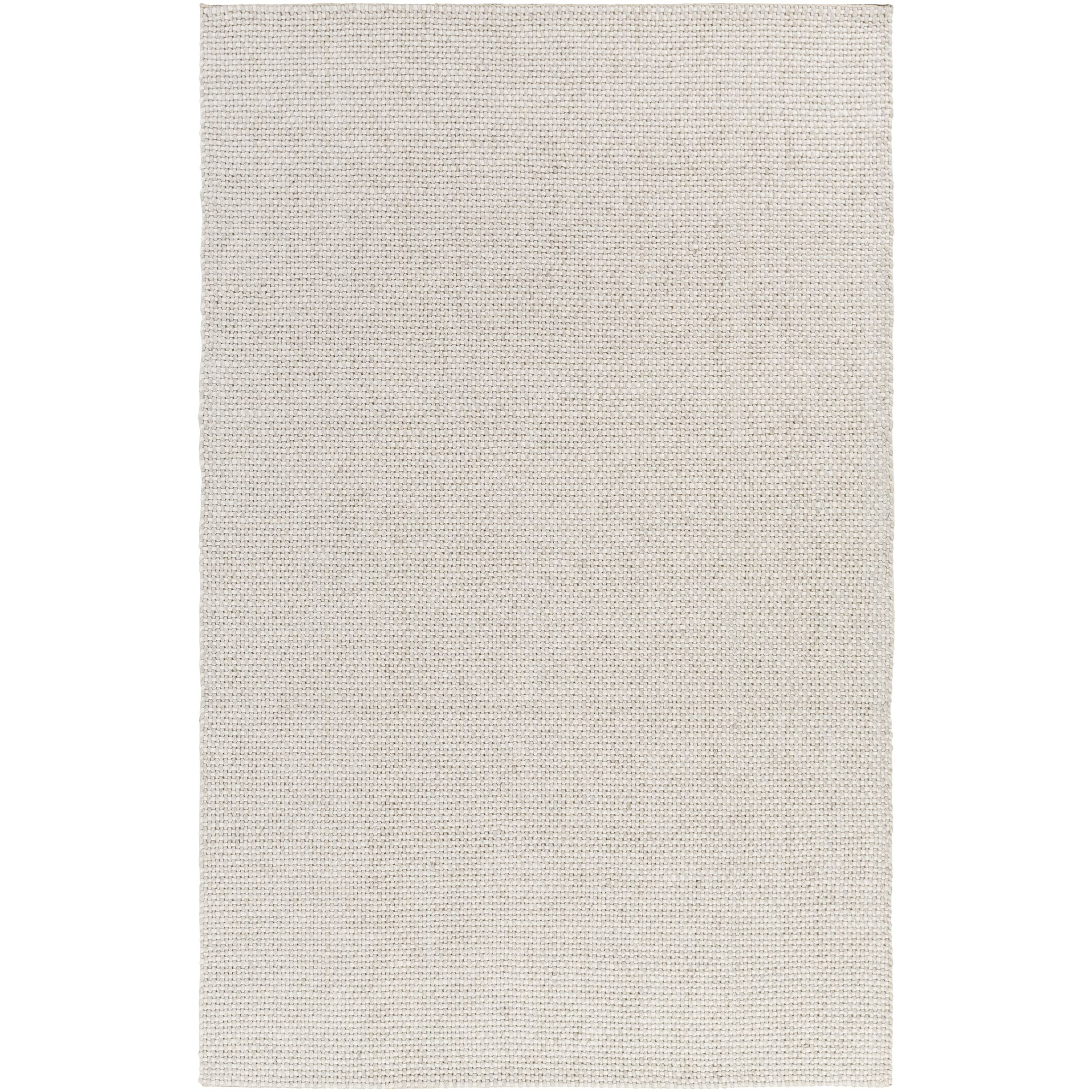 Haysville Hand-Woven Light Gray Area Rug Rug Size: Rectangle 3'3