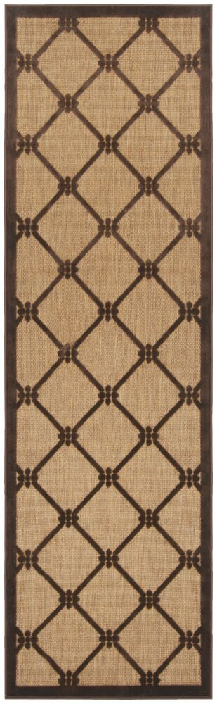 Kistler Chocolate Indoor/Outdoor Rug Rug Size: Rectangle 4'7